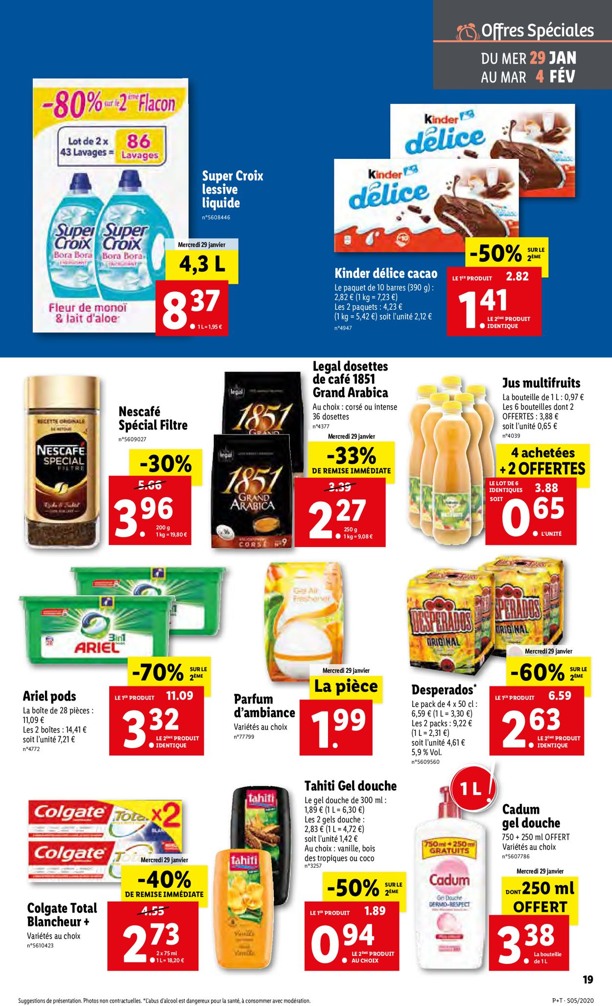 Lidl Catalogue - 29.01-04.02.2020 (Page 19)