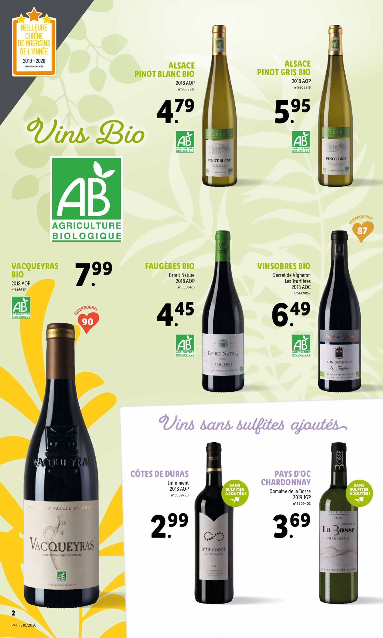 Lidl Catalogue - 04.03-10.03.2020 (Page 2)
