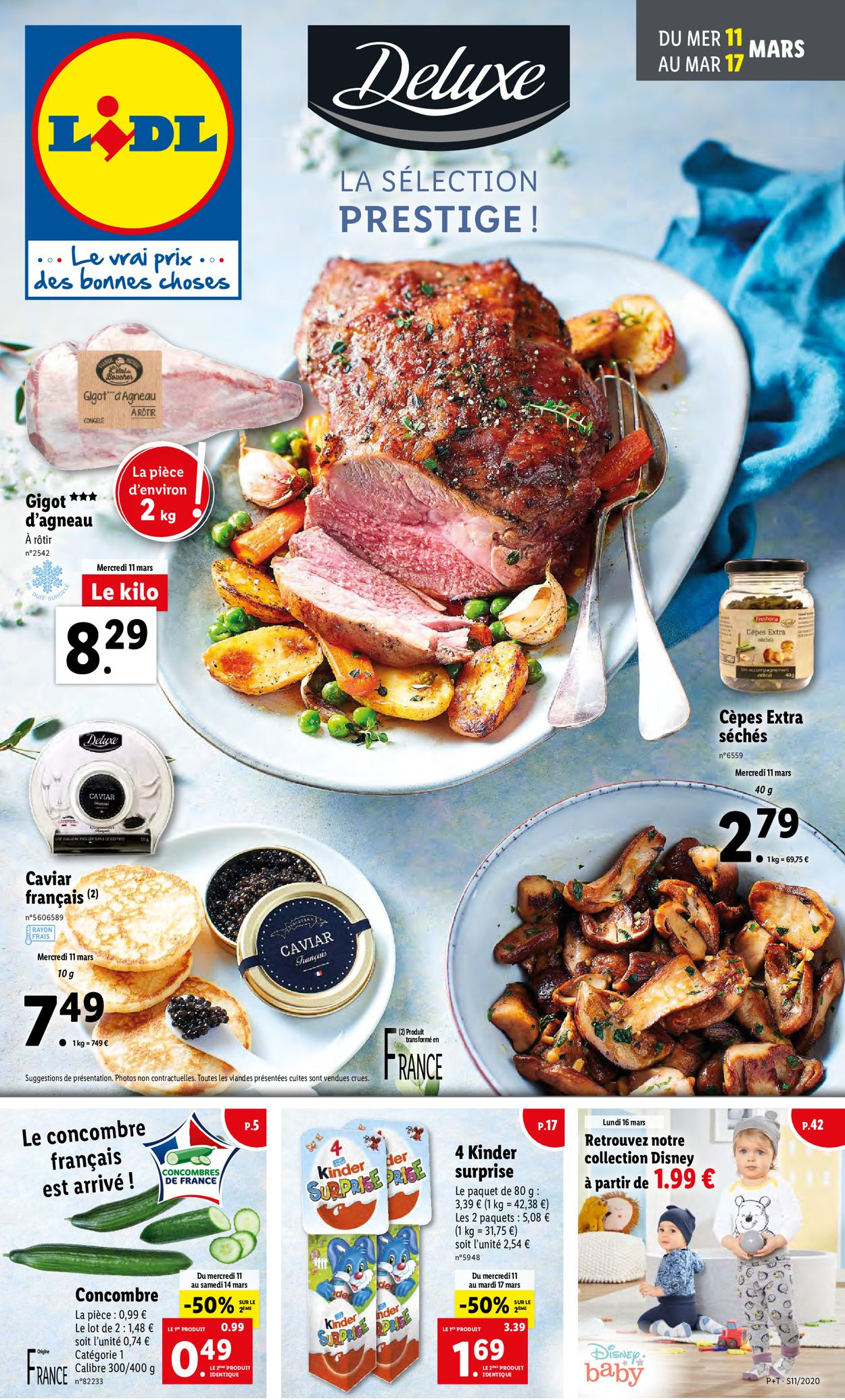Lidl Catalogue - 11.03-17.03.2020