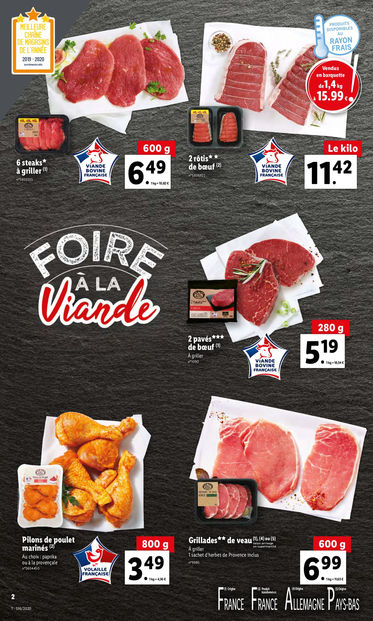 Lidl Catalogue - 15.04-21.04.2020 (Page 2)
