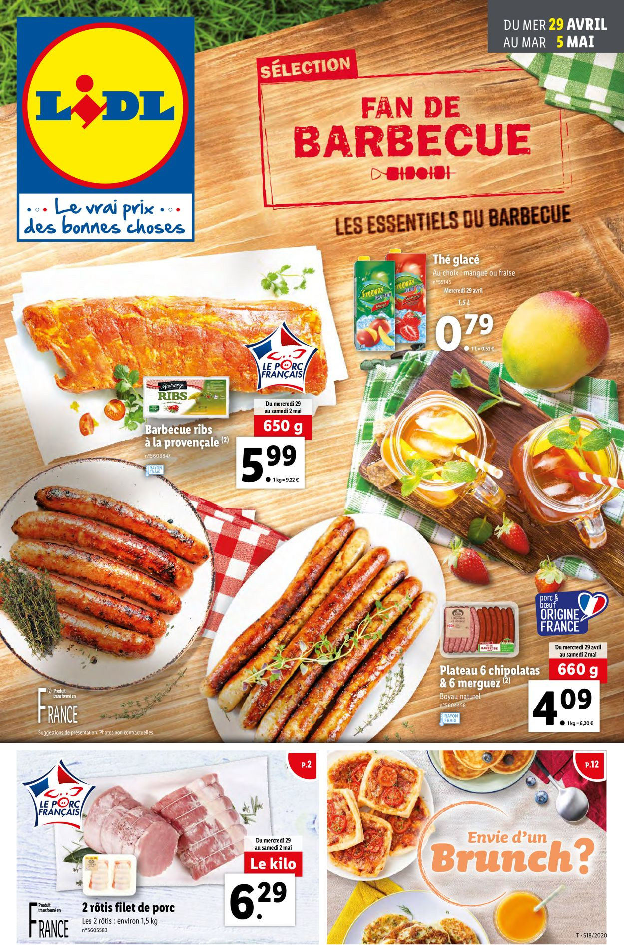 Lidl Catalogue - 29.04-05.05.2020