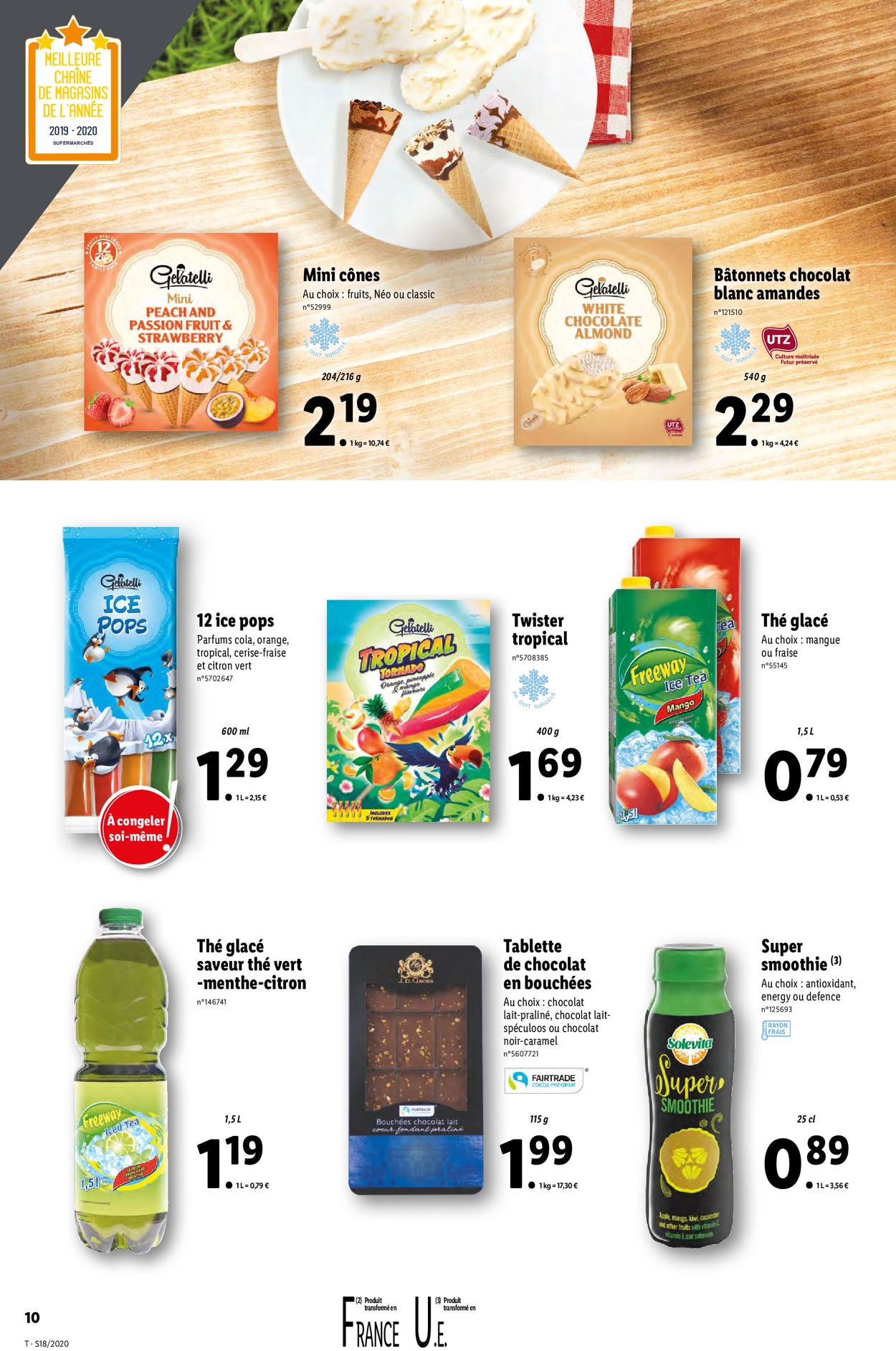 Lidl Catalogue - 29.04-05.05.2020 (Page 10)