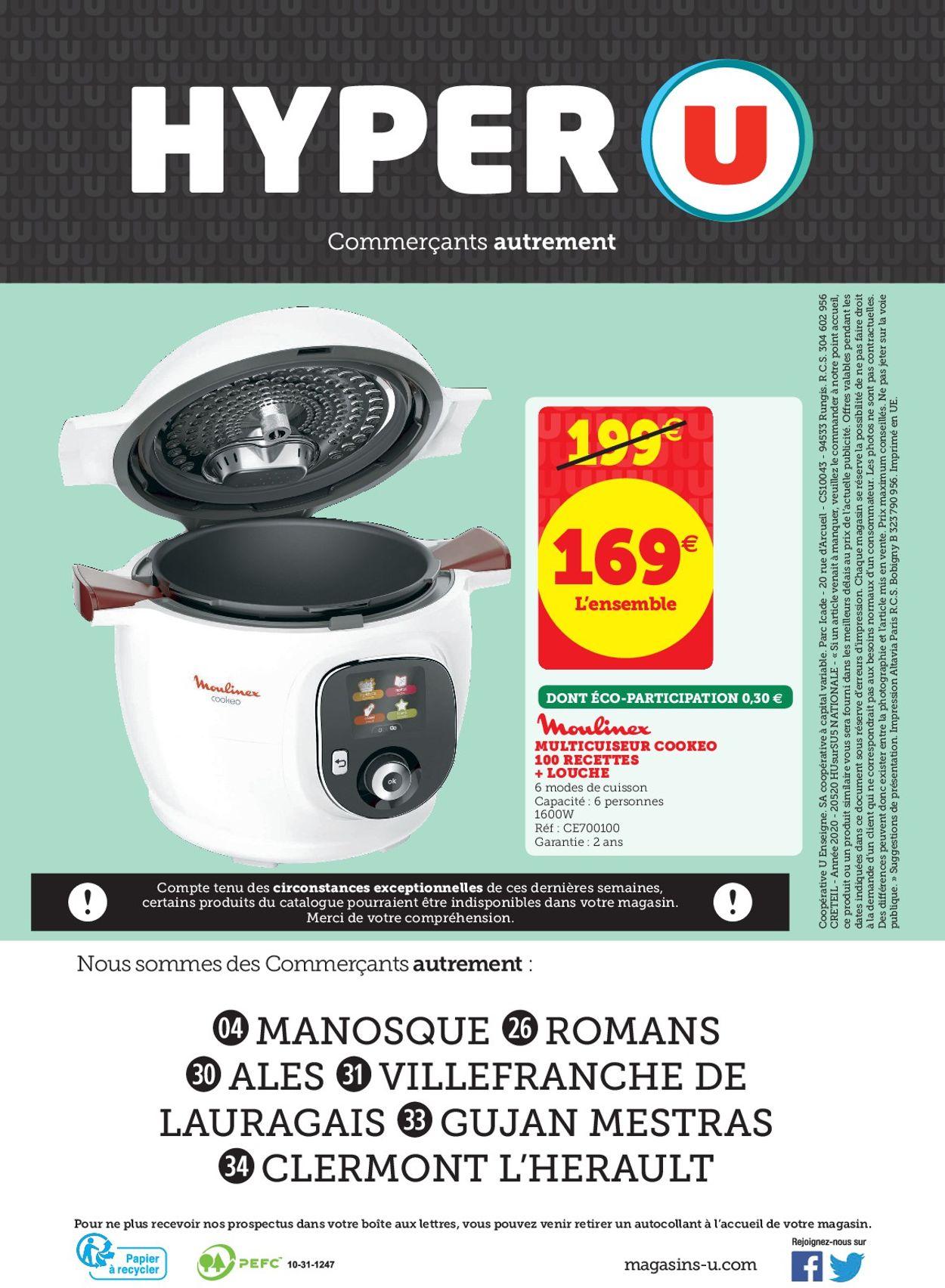 Magasins U Catalogue - 26.05-06.06.2020 (Page 32)