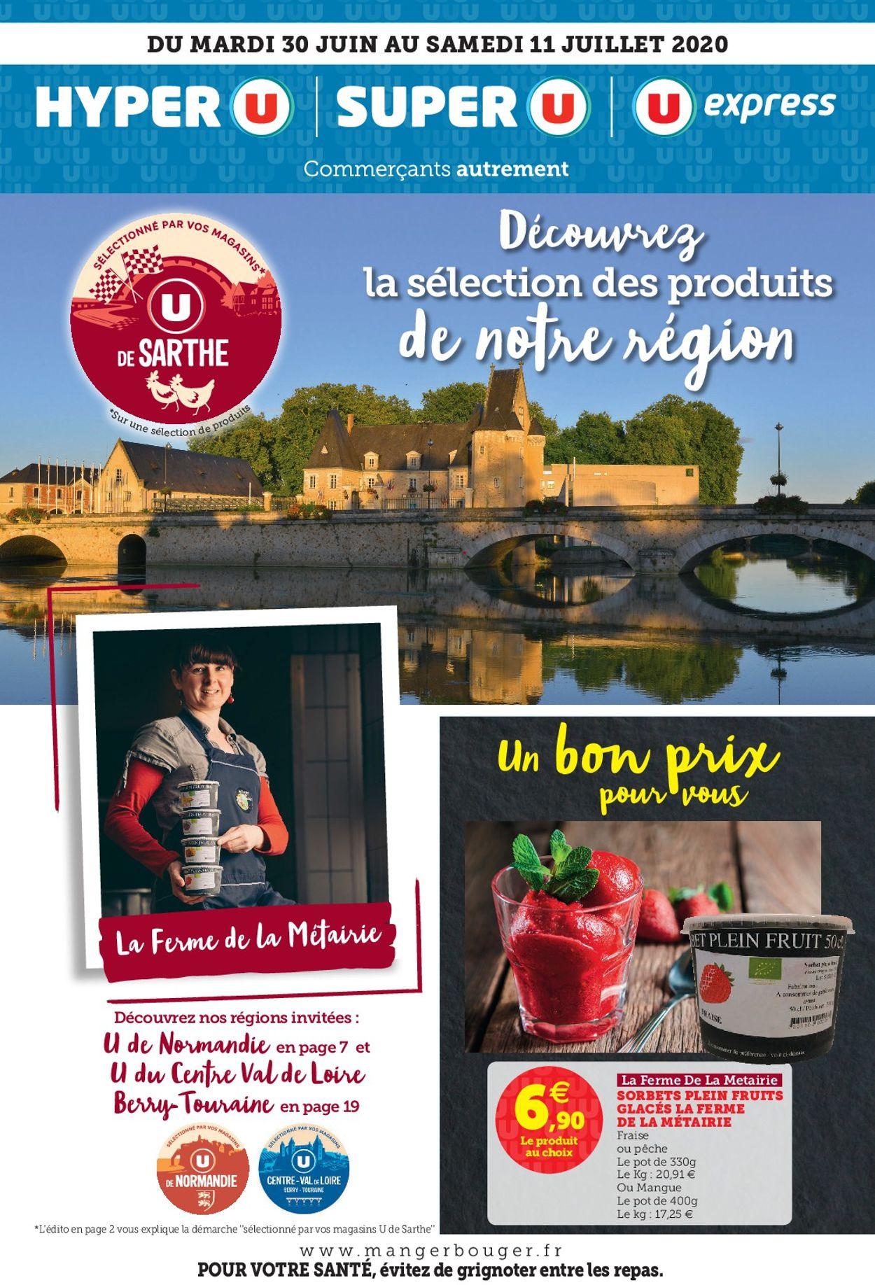 Magasins U Catalogue - 30.06-11.07.2020