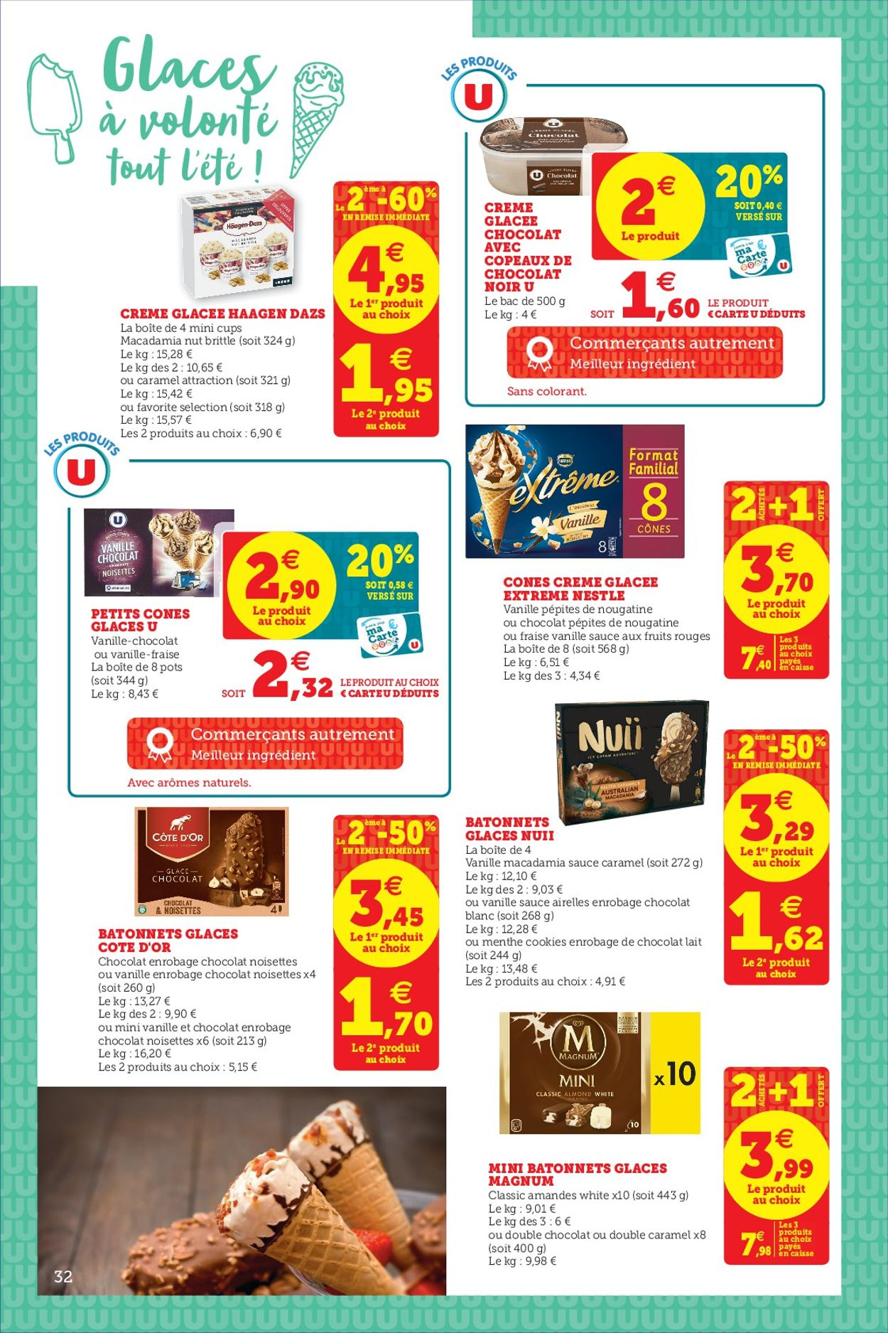 Magasins U Catalogue - 07.07-18.07.2020 (Page 32)