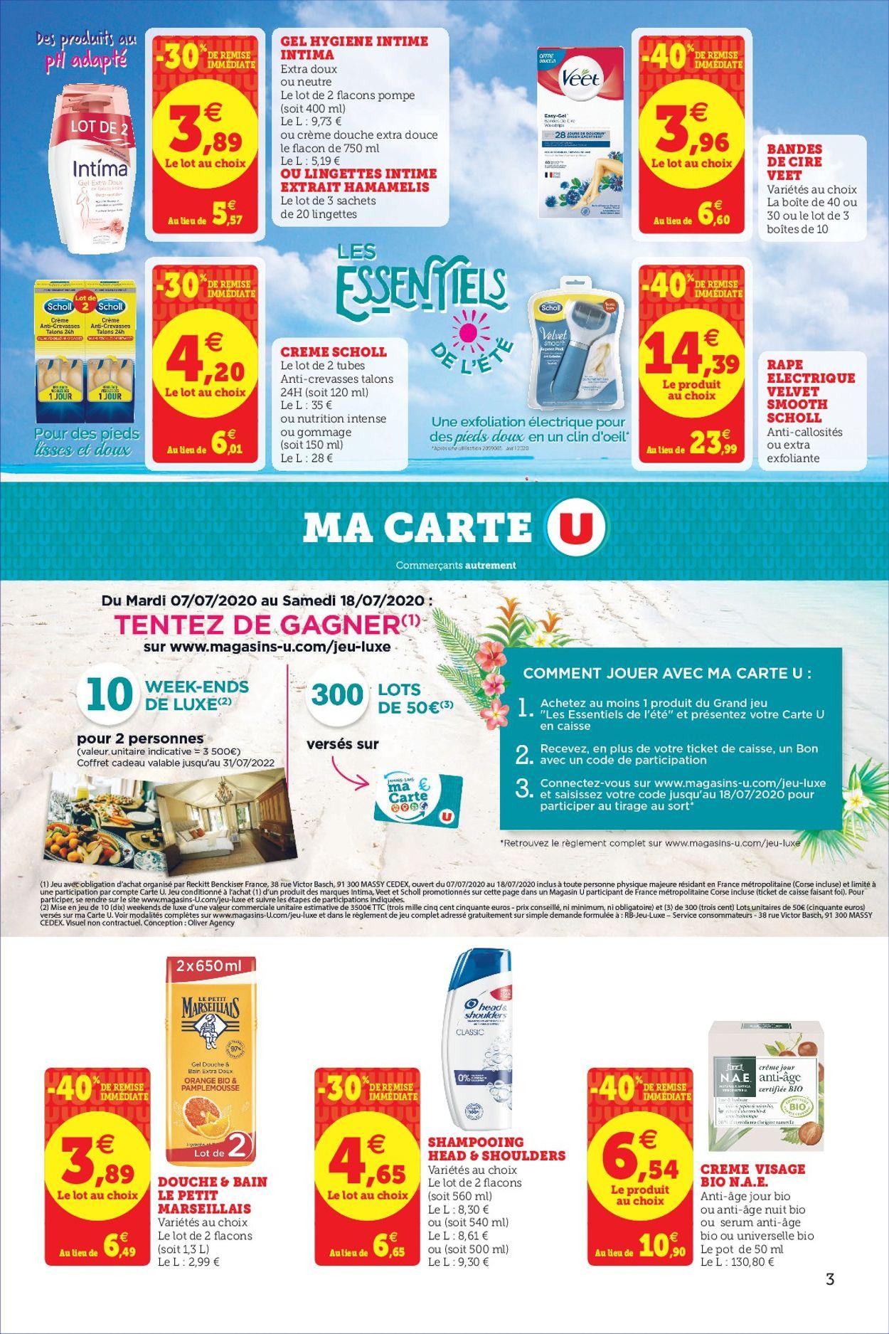 Magasins U Catalogue - 07.07-18.07.2020 (Page 3)