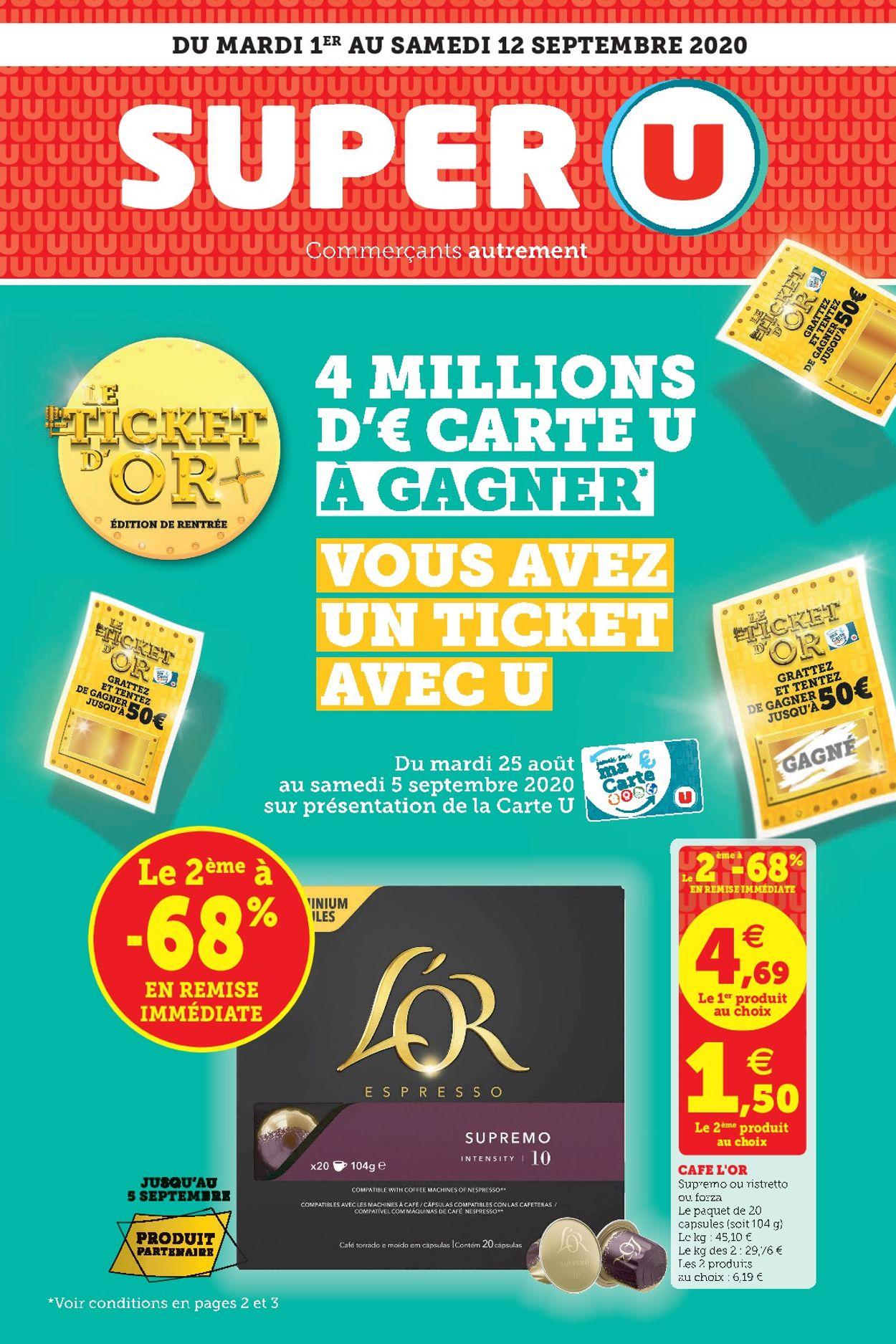 Magasins U Catalogue - 01.09-12.09.2020