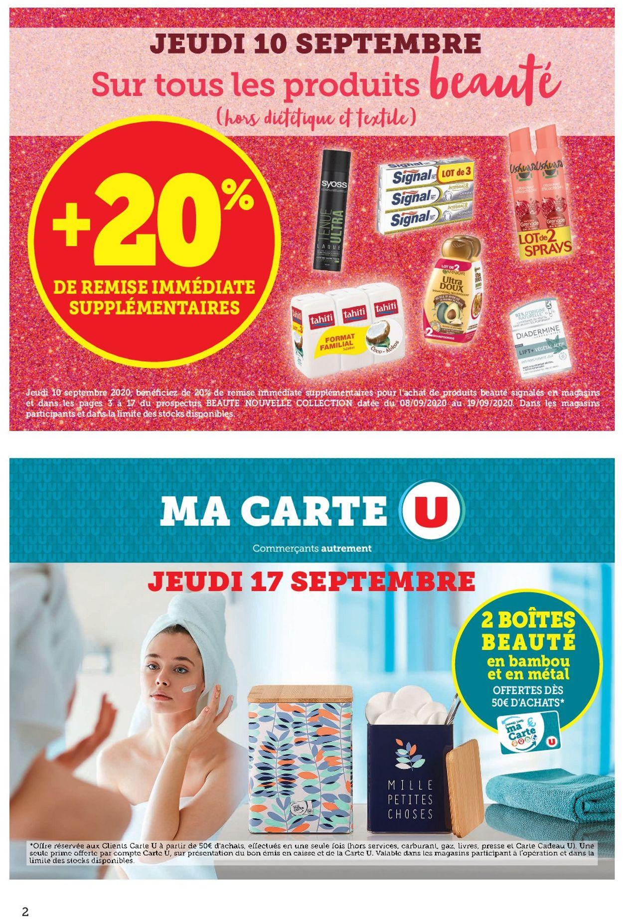 Magasins U Catalogue - 08.09-19.09.2020 (Page 2)