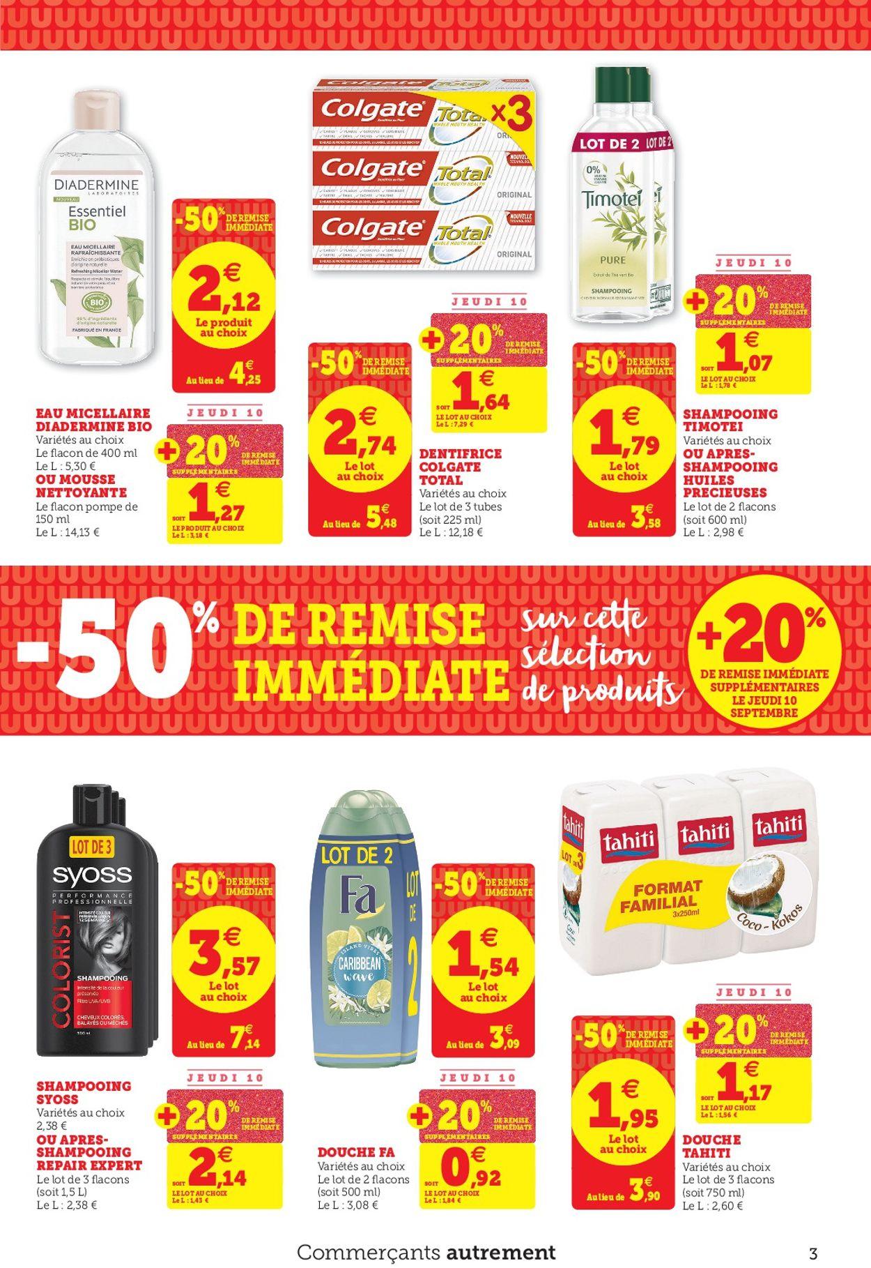 Magasins U Catalogue - 08.09-19.09.2020 (Page 3)
