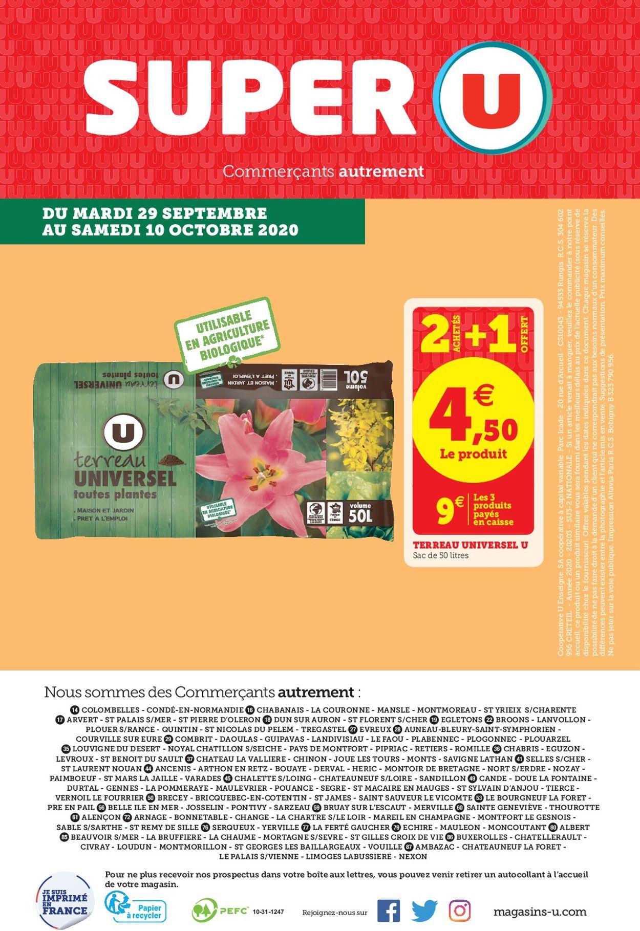 Magasins U Catalogue - 22.09-10.10.2020 (Page 16)