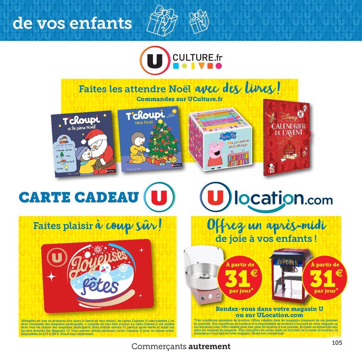 Magasins U Catalogue - 20.10-12.12.2020 (Page 105)