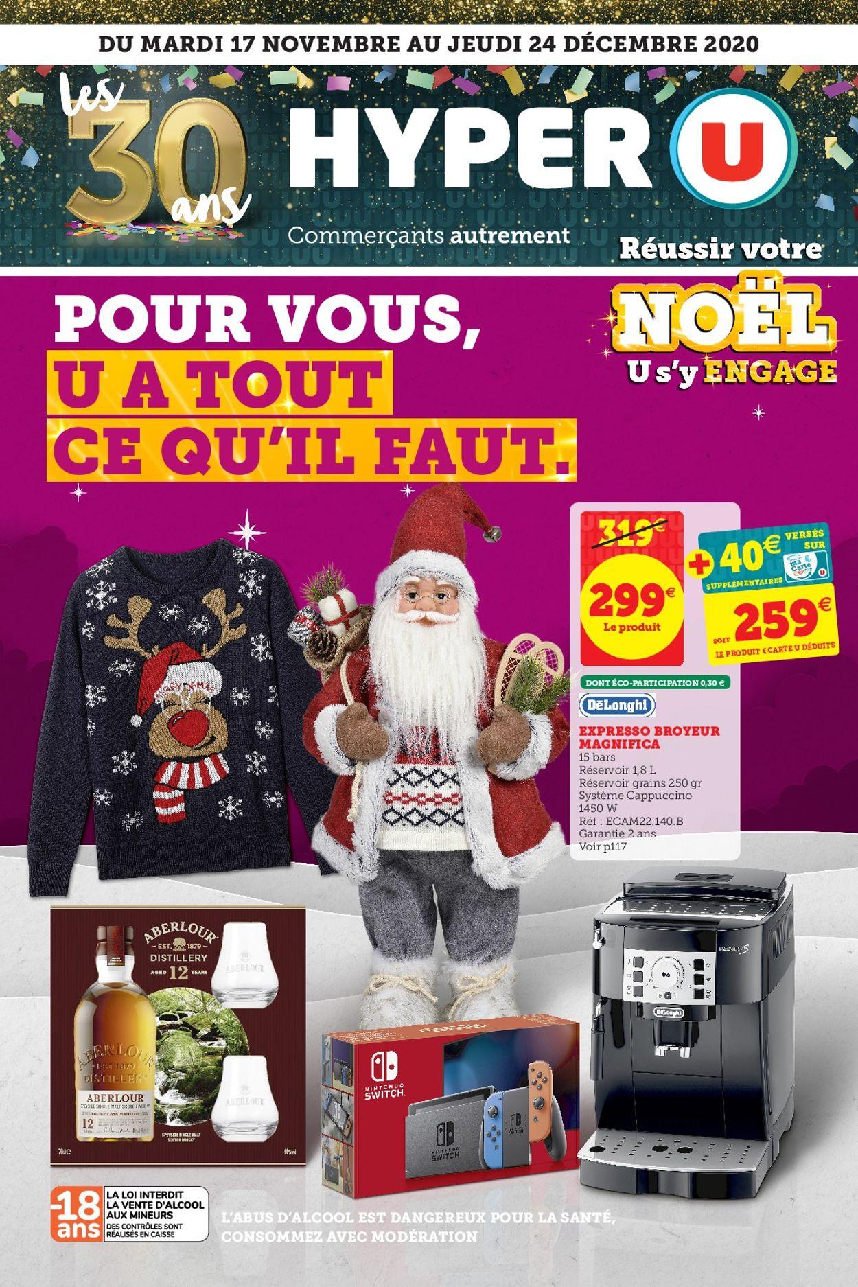 Magasins U - noël Catalogue - 17.11-24.12.2020