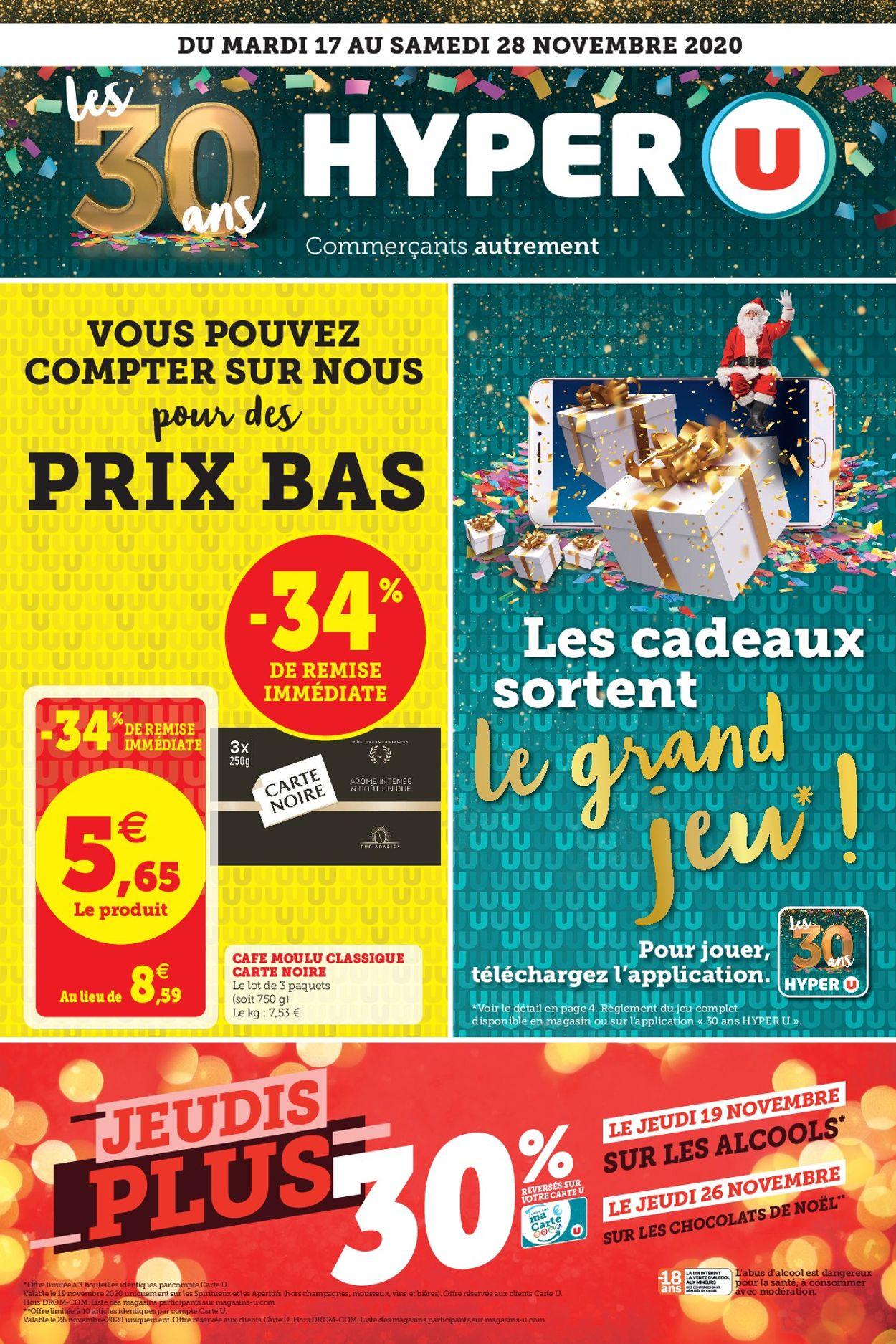 Magasins U Catalogue - 17.11-28.11.2020