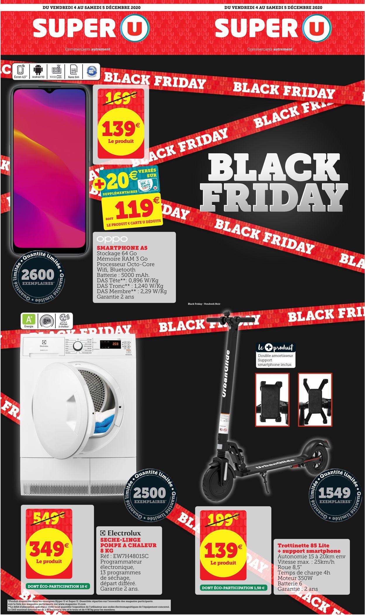 Magasins U Black Friday 2020 Catalogue - 04.12-05.12.2020
