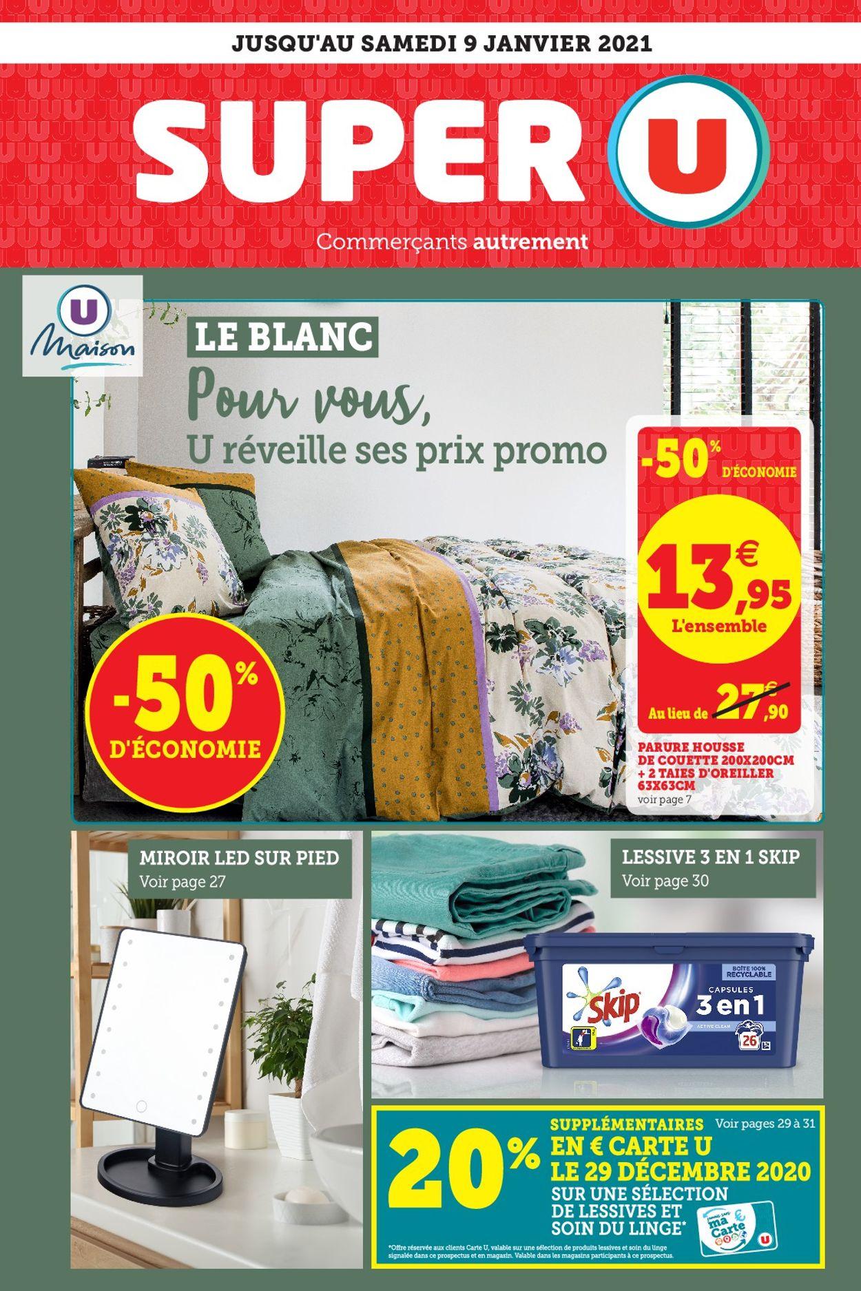 Magasins U Catalogue - 22.12-09.01.2021