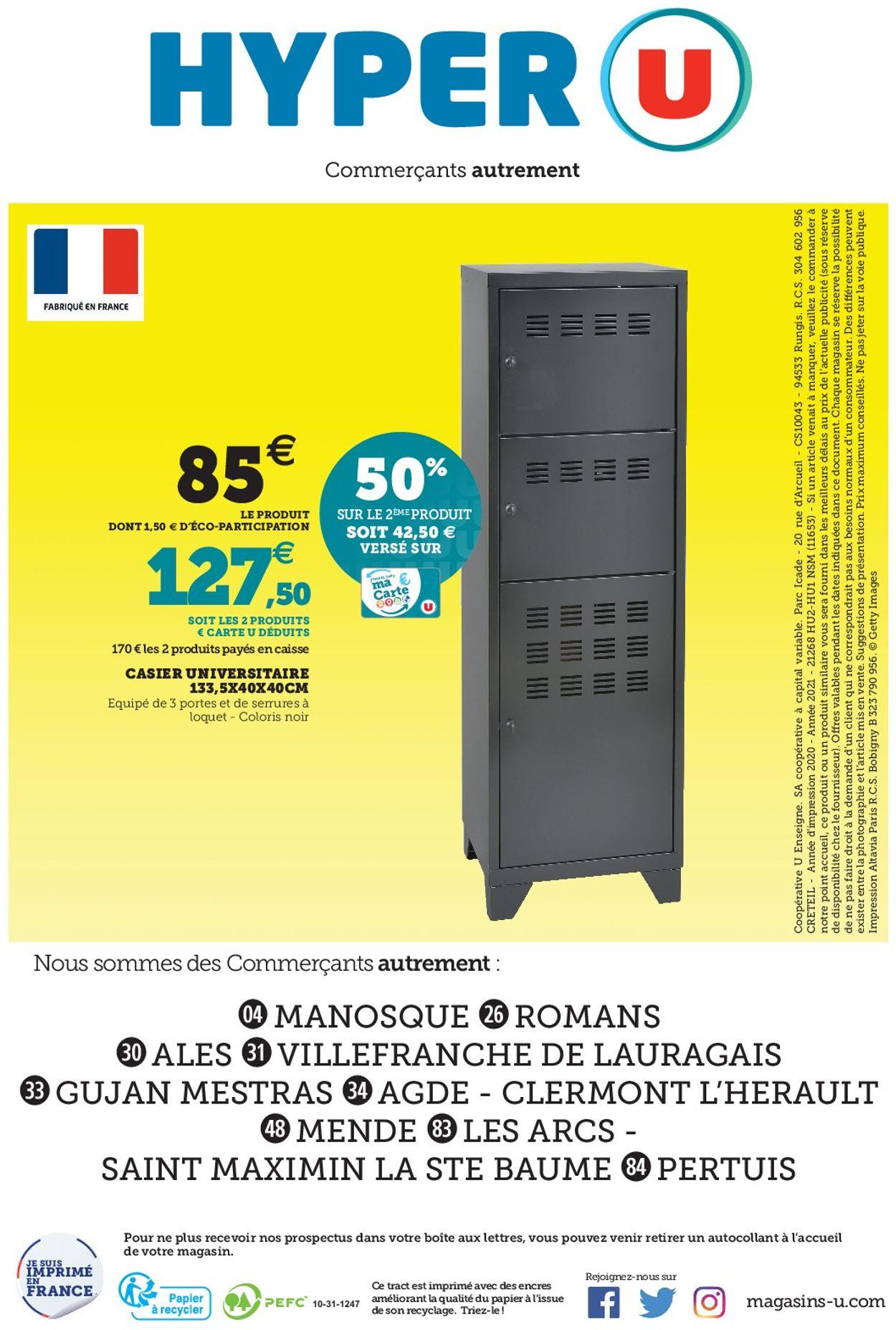 Magasins U Catalogue - 05.01-16.01.2021 (Page 80)