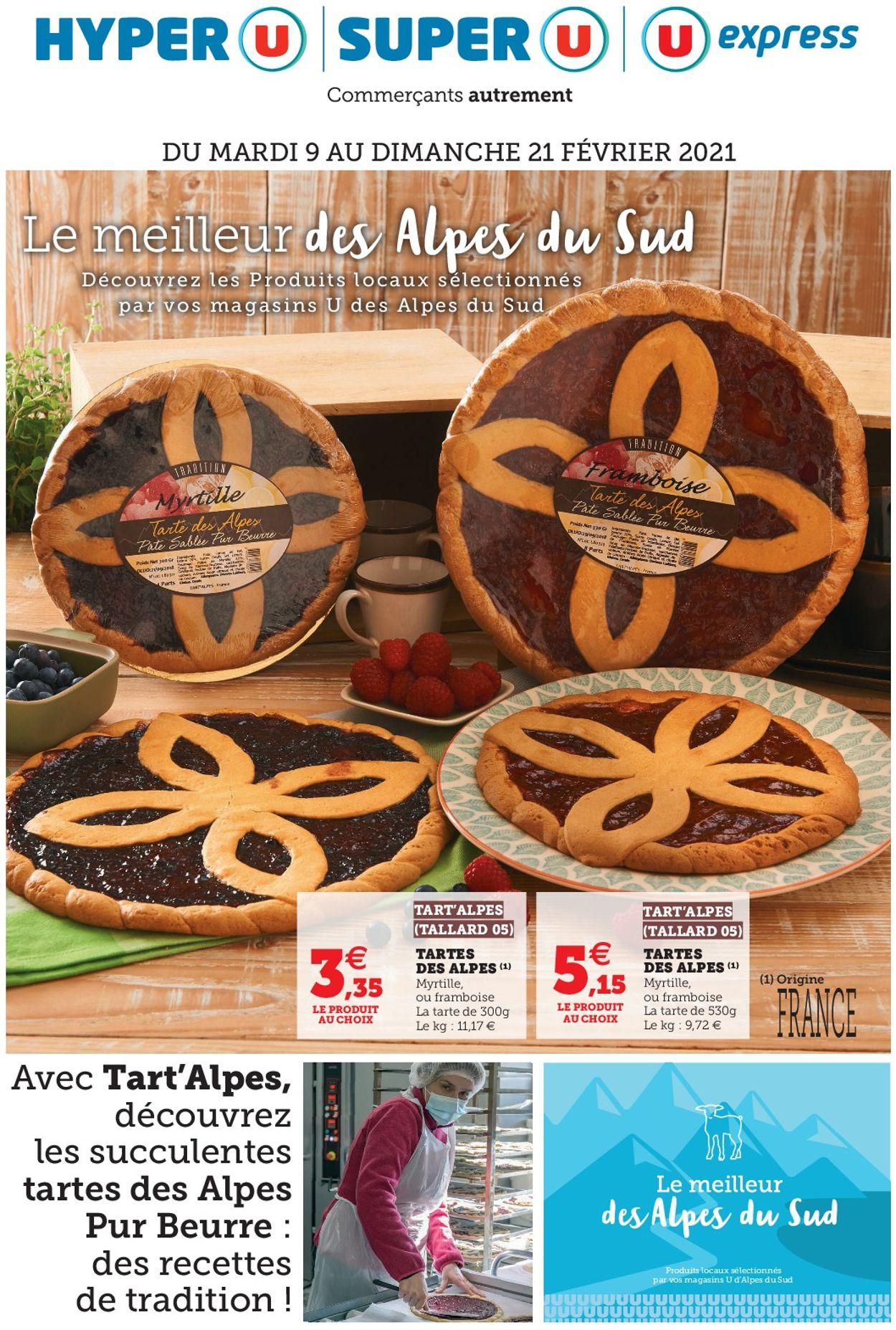 Magasins U Le Meilleur Des Alpes Du Sud 2021 Catalogue - 09.02-21.02.2021