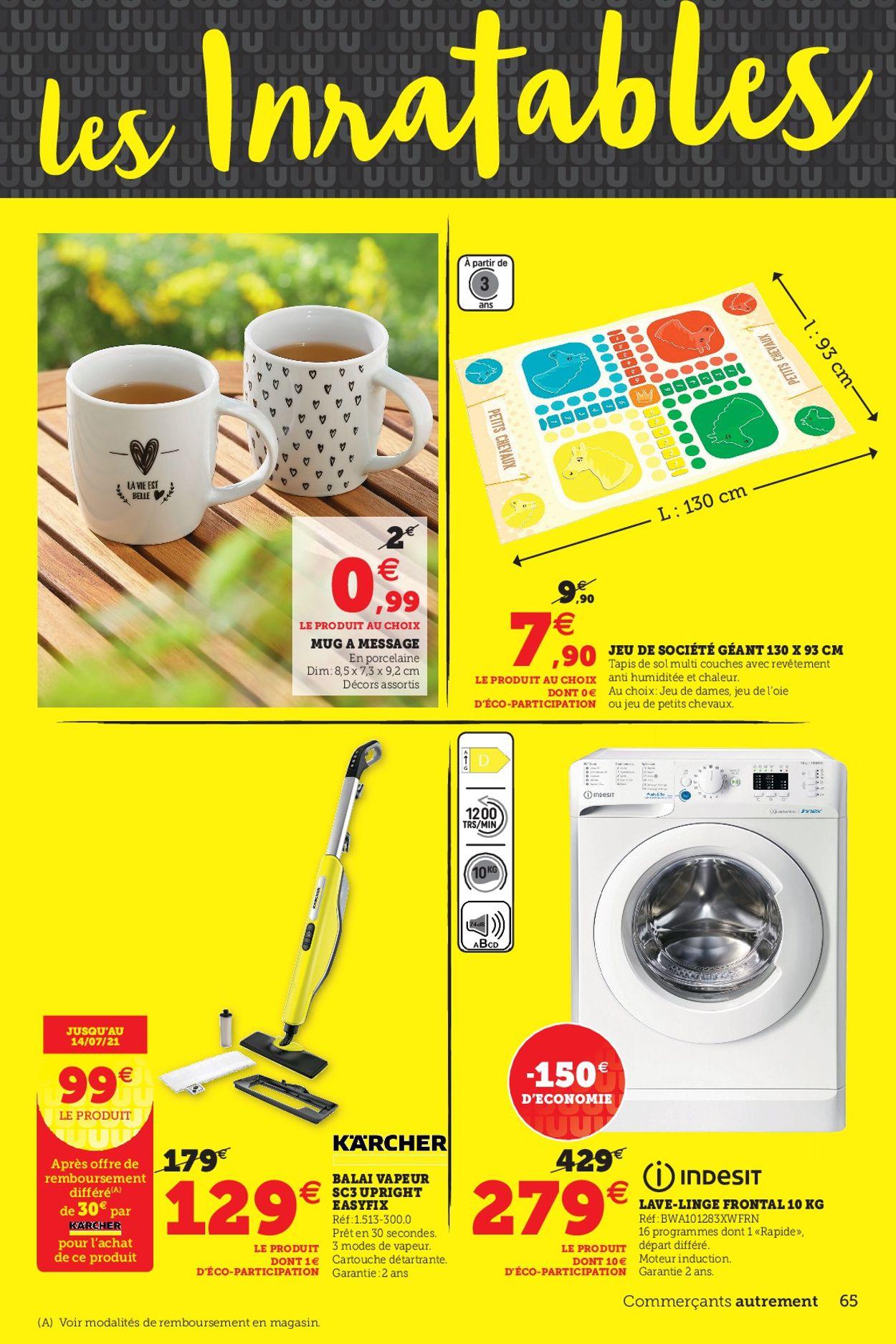Magasins U Catalogue - 04.05-15.05.2021 (Page 65)