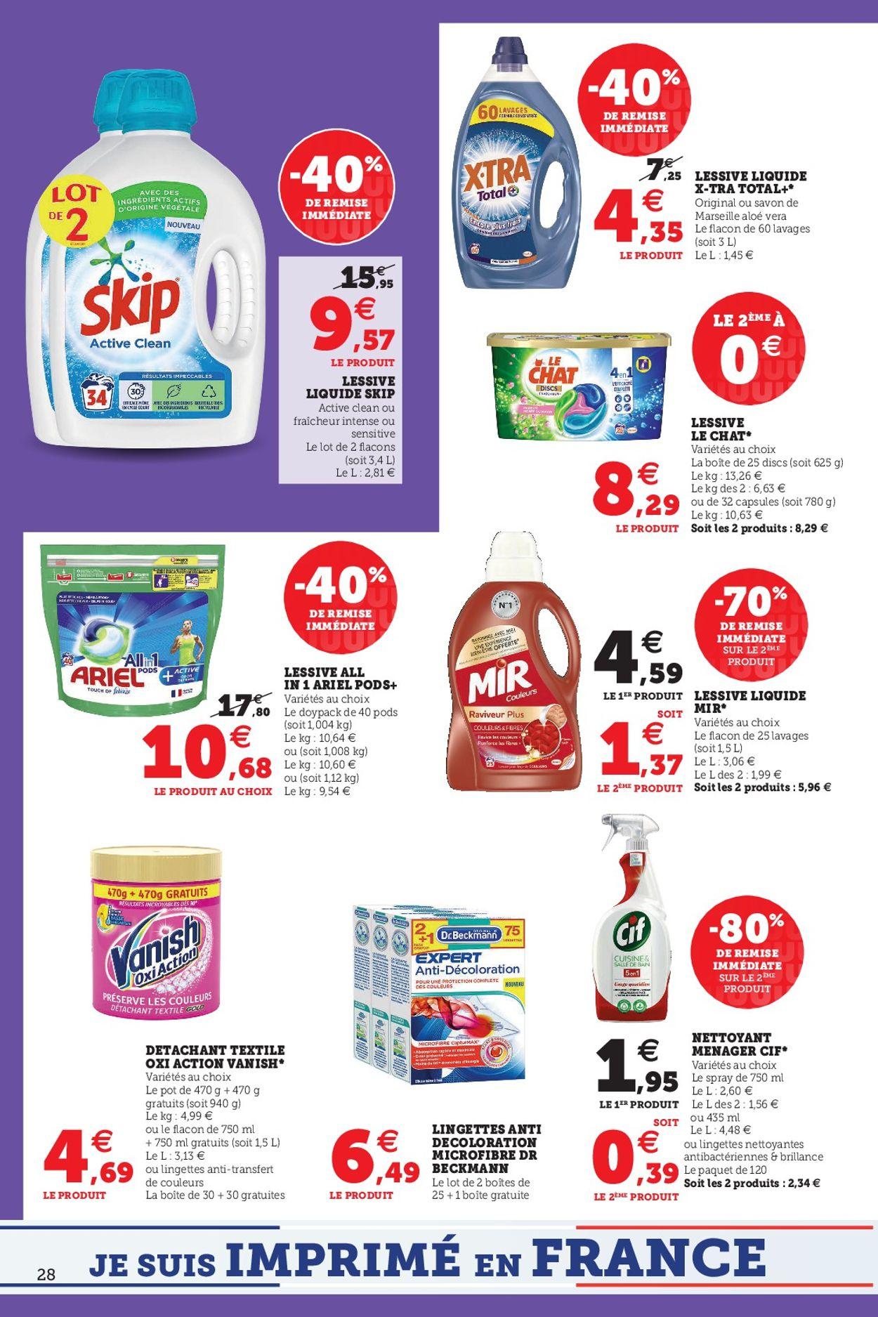 Magasins U Catalogue - 29.06-10.07.2021 (Page 28)