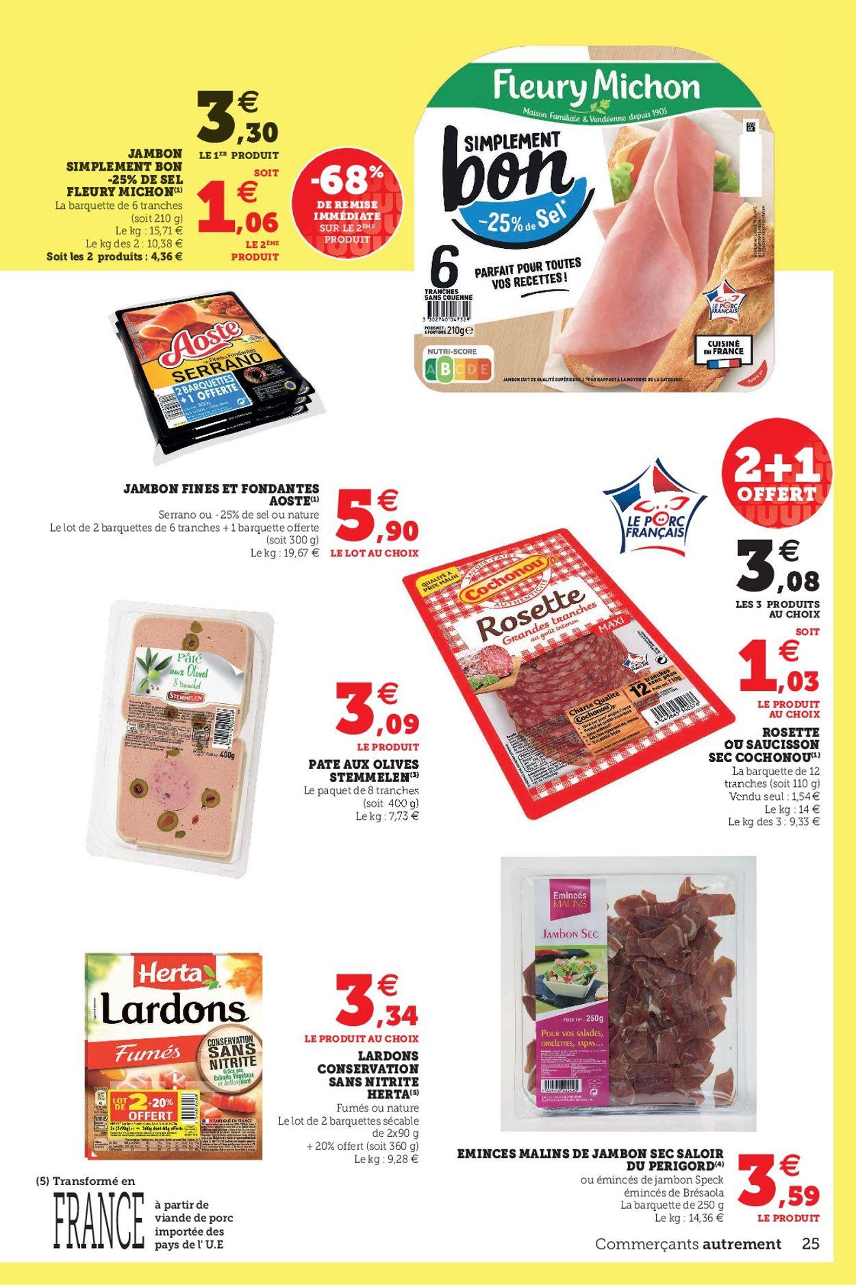 Magasins U Catalogue - 06.07-17.07.2021 (Page 25)