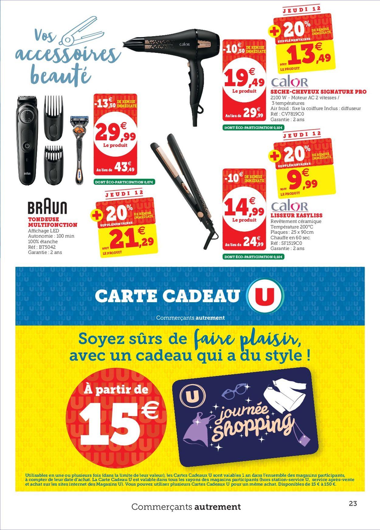 Magasins U Catalogue - 10.03-21.03.2020 (Page 23)