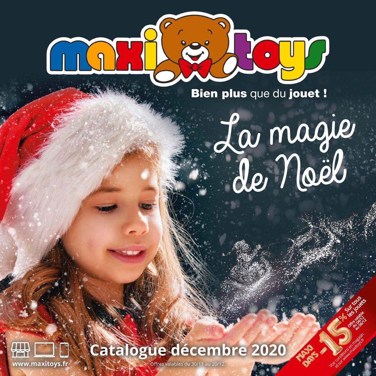 Maxi Toys Catalogue - 30.11-20.12.2020
