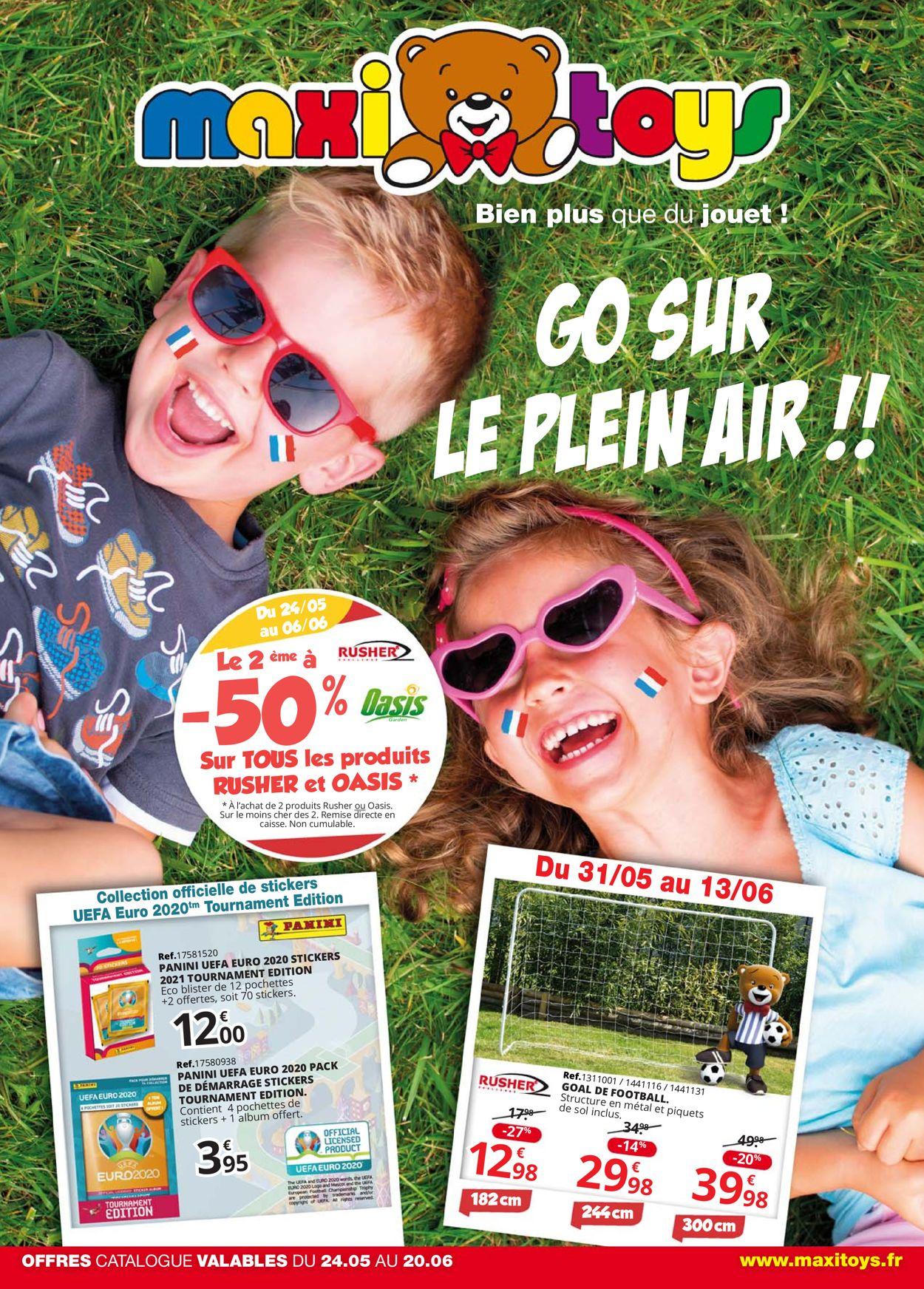 Maxi Toys Catalogue - 24.05-20.06.2021