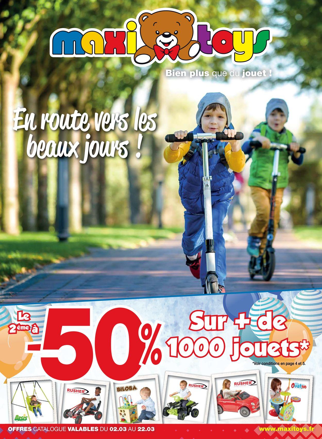 Maxi Toys Catalogue - 02.03-22.03.2020