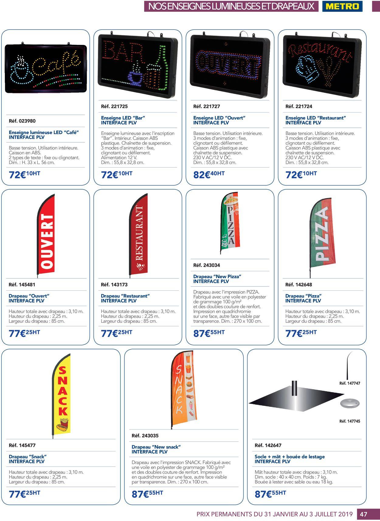 Metro Catalogue - 31.01-03.07.2019 (Page 47)