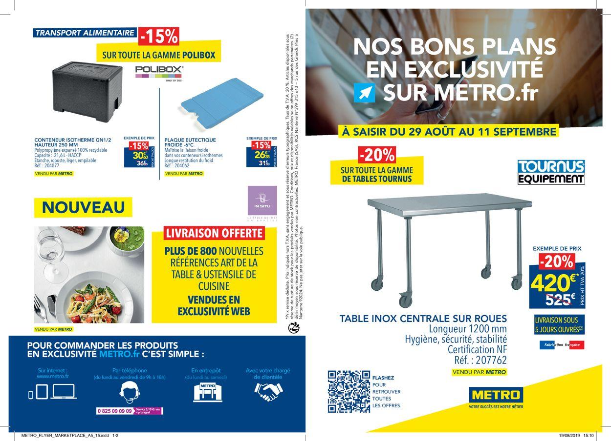 Metro Catalogue - 29.08-11.09.2019