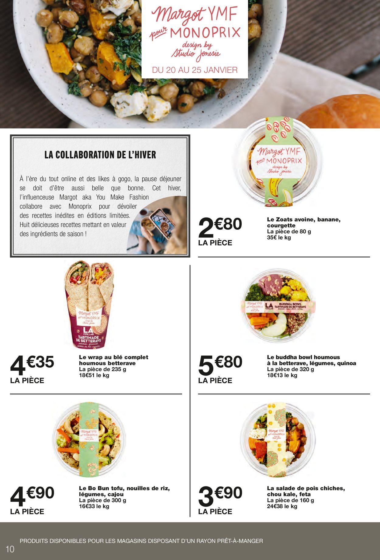 Monoprix Catalogue - 24.01-31.01.2021 (Page 10)