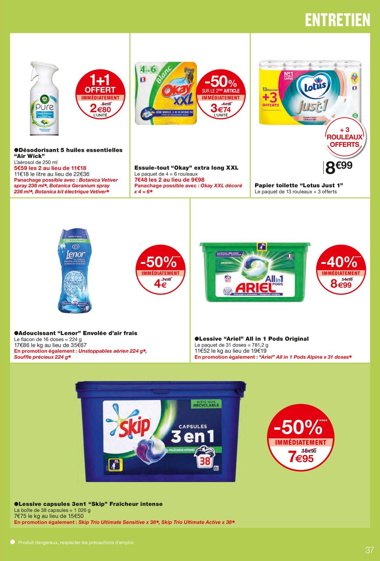 Monoprix Catalogue - 07.04-18.04.2021 (Page 37)