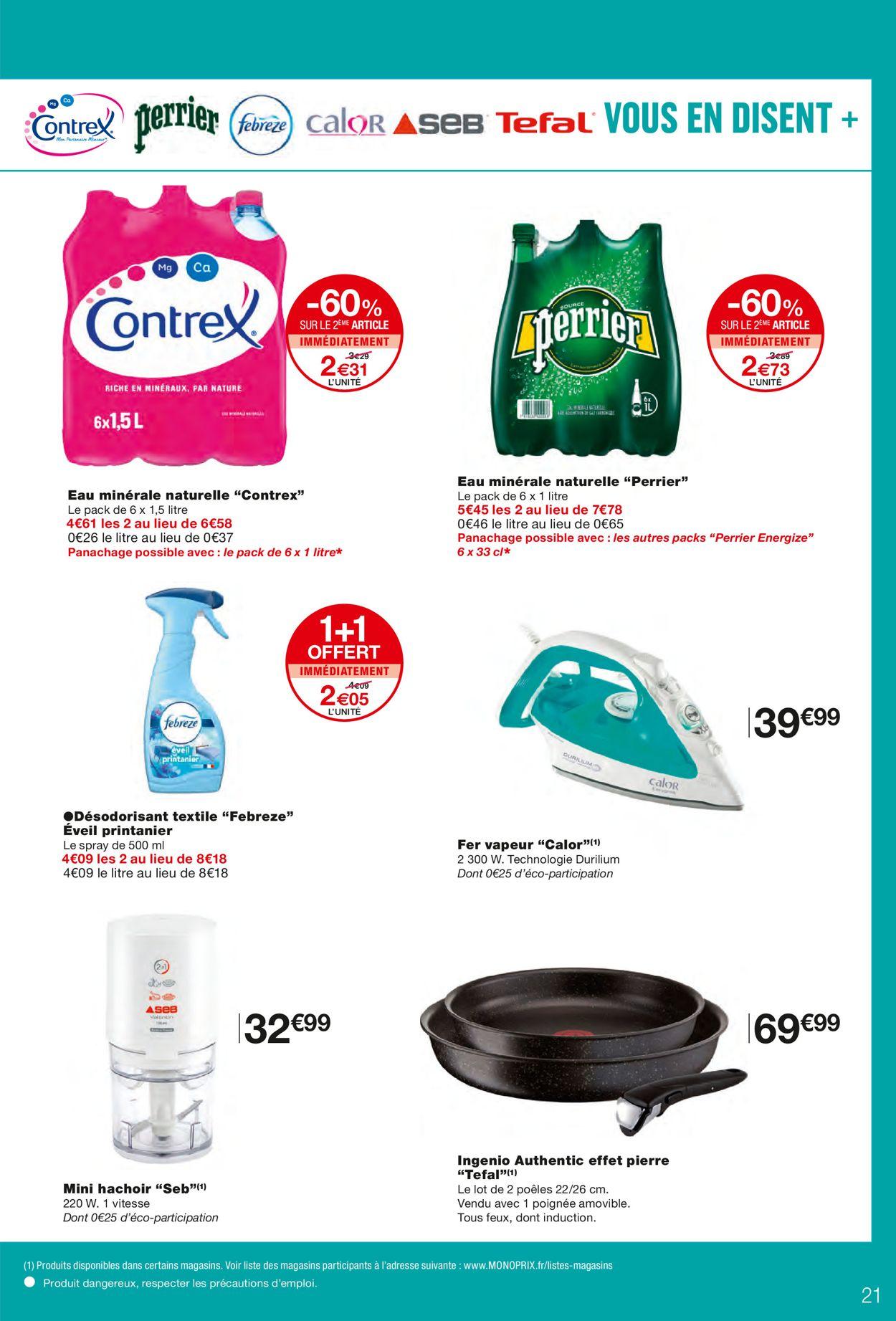 Monoprix Catalogue - 21.04-02.05.2021 (Page 21)