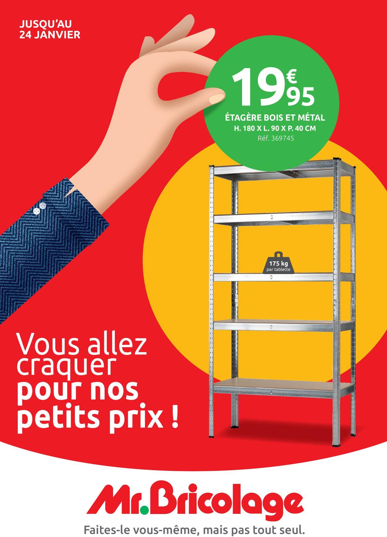 Mr Bricolage Catalogue - 06.01-24.01.2021