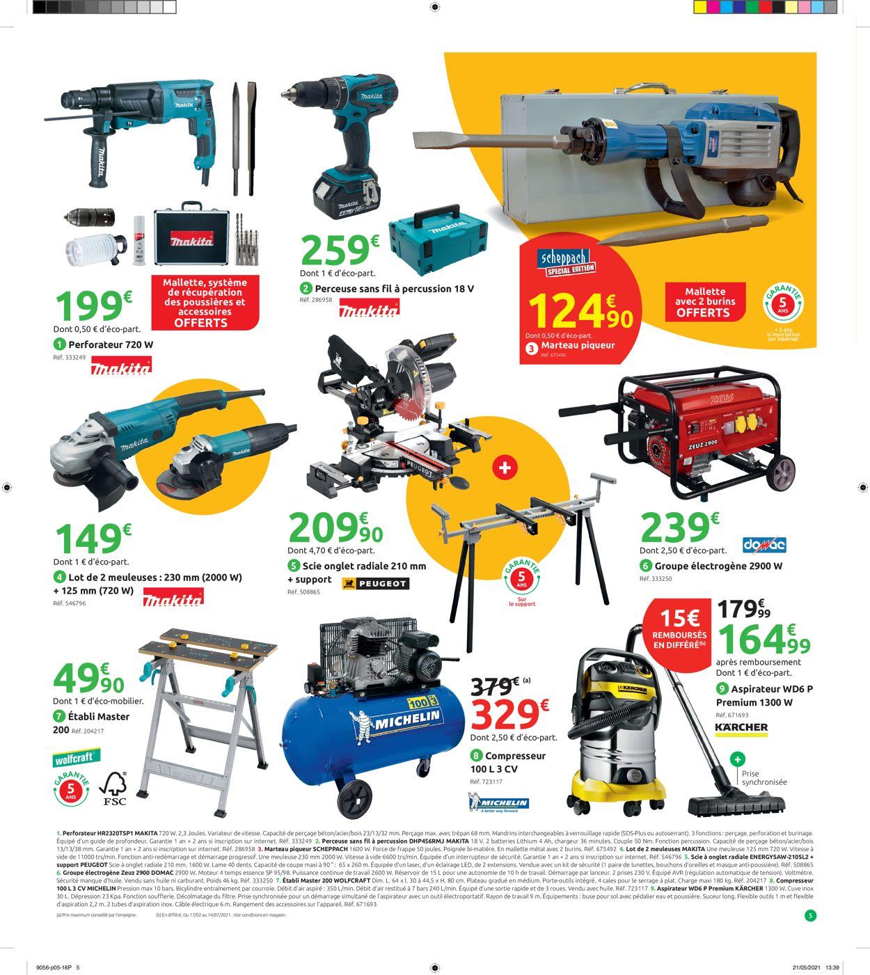 Mr Bricolage Catalogue - 30.06-08.08.2021 (Page 5)