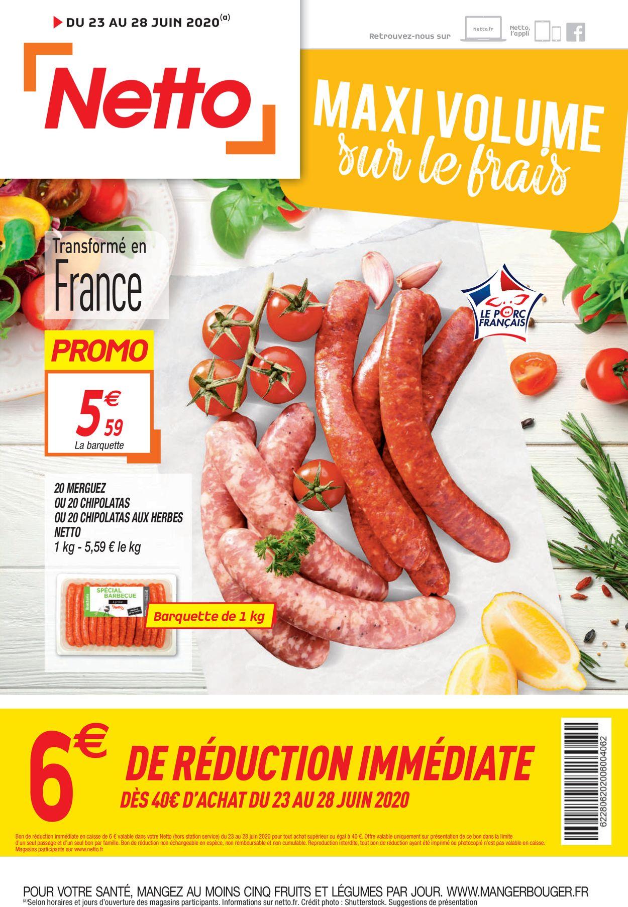 Netto Catalogue - 23.06-28.06.2020