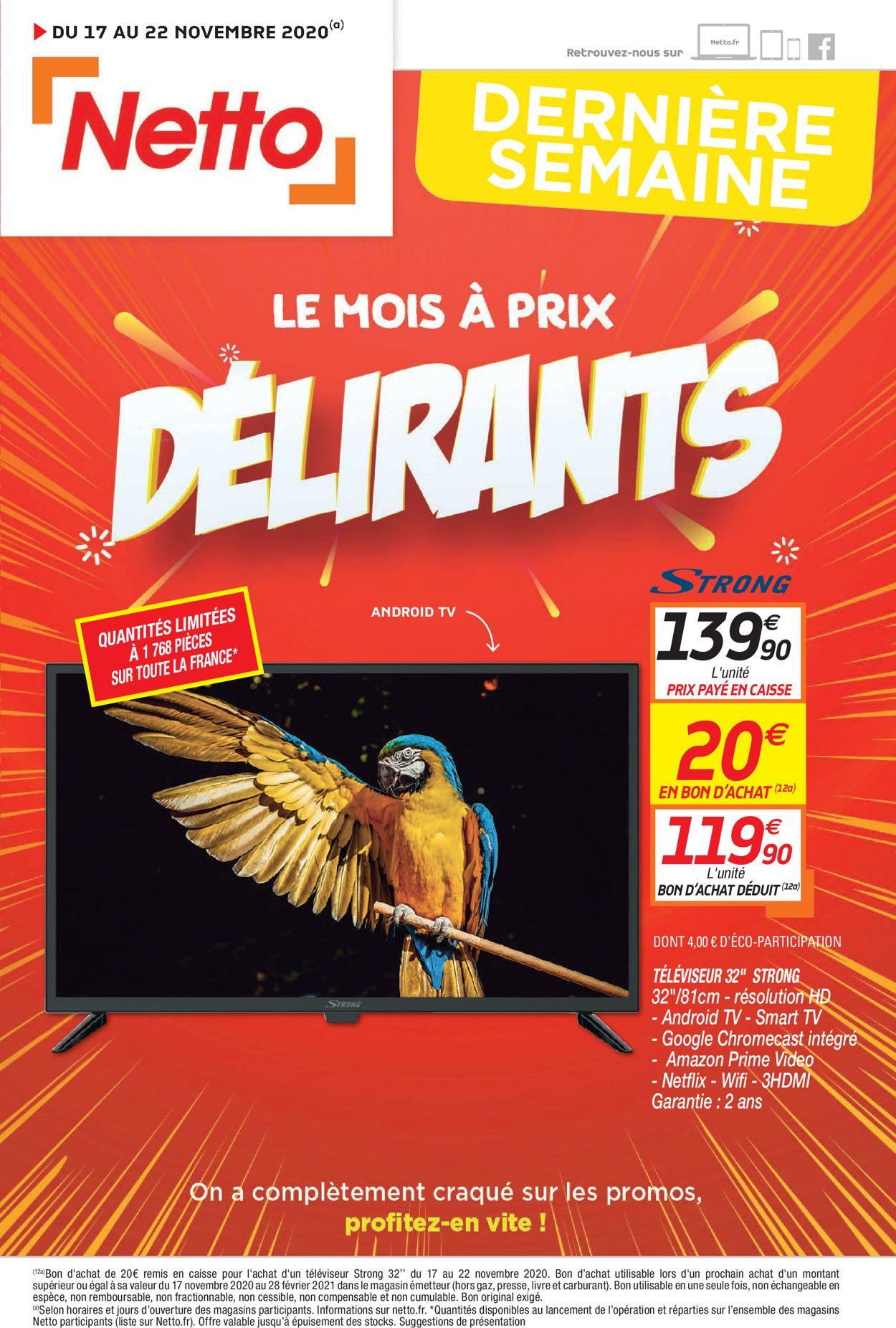 Netto Catalogue - 17.11-22.11.2020