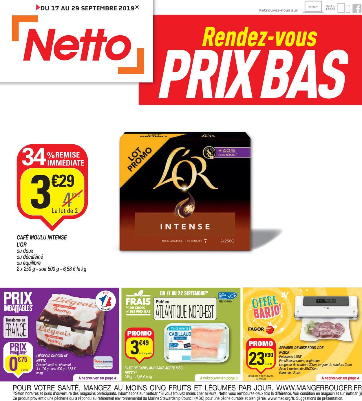 Netto Catalogue - 17.09-29.09.2019