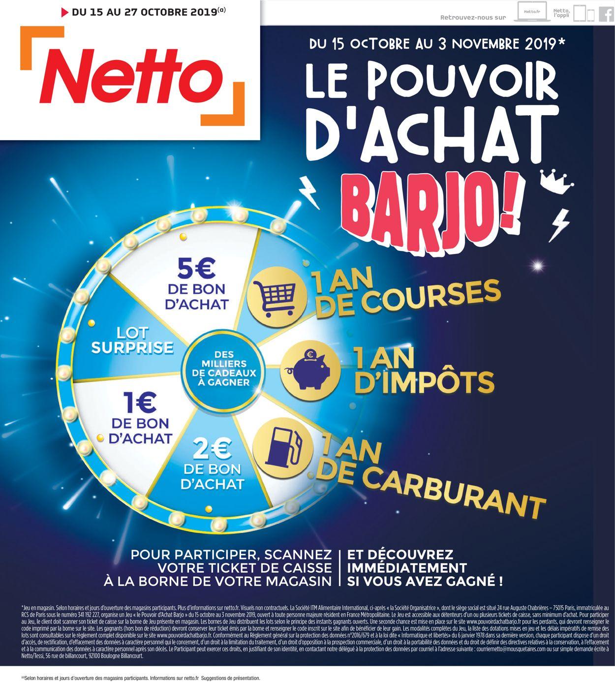 Netto Catalogue - 15.10-27.10.2019
