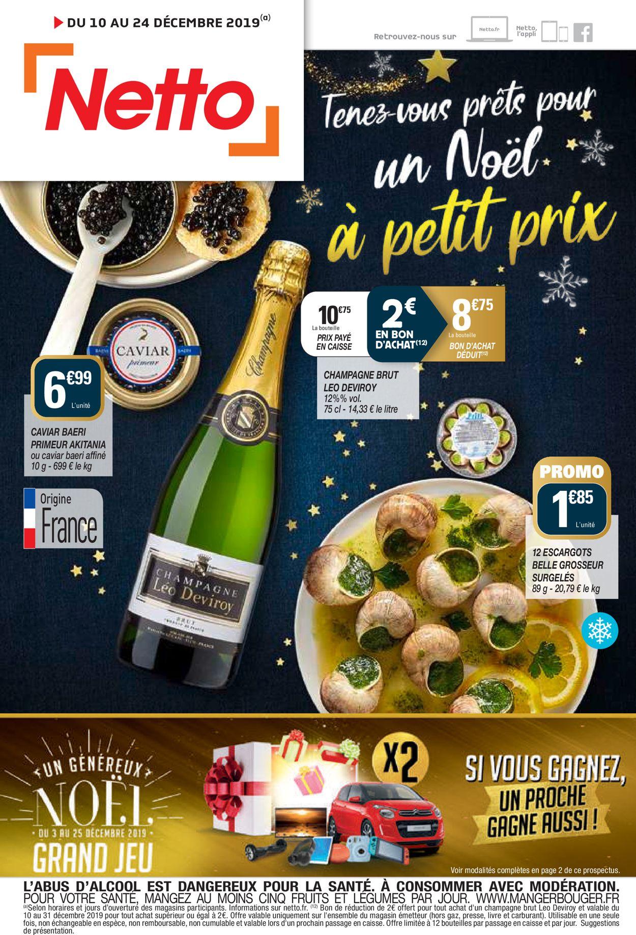 Netto catalogue de Noël 2019 Catalogue - 10.12-24.12.2019