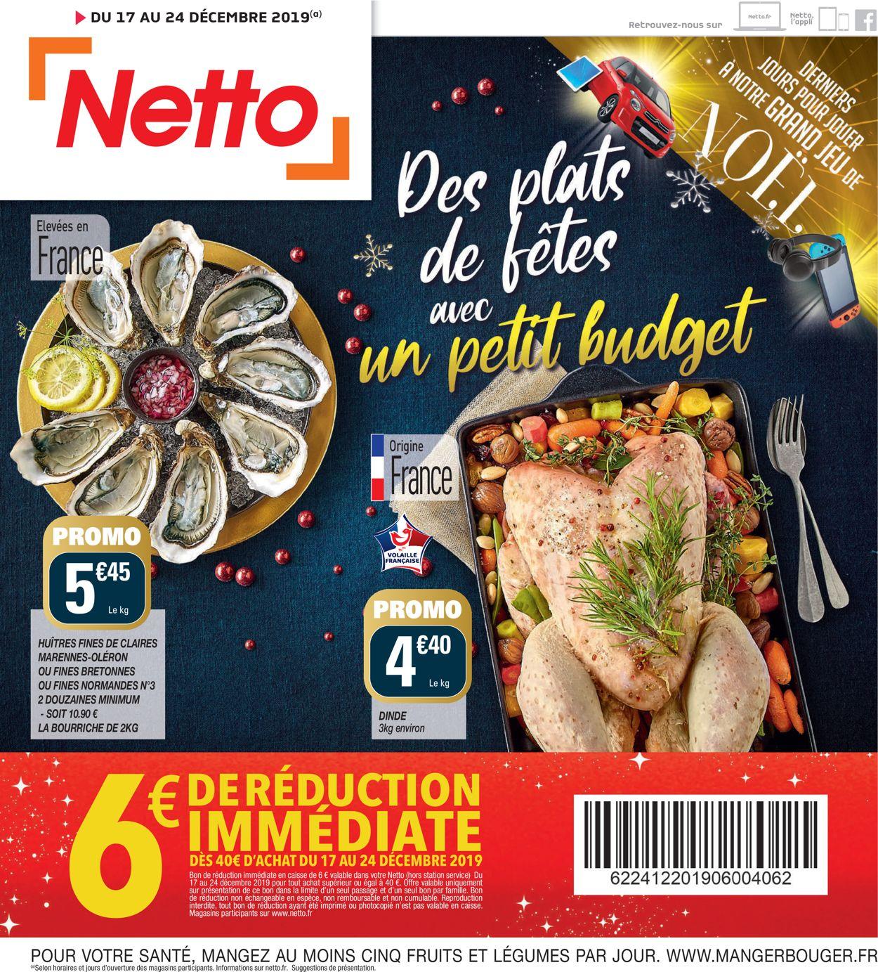 Netto - catalogue de Noël 2019 Catalogue - 17.12-24.12.2019