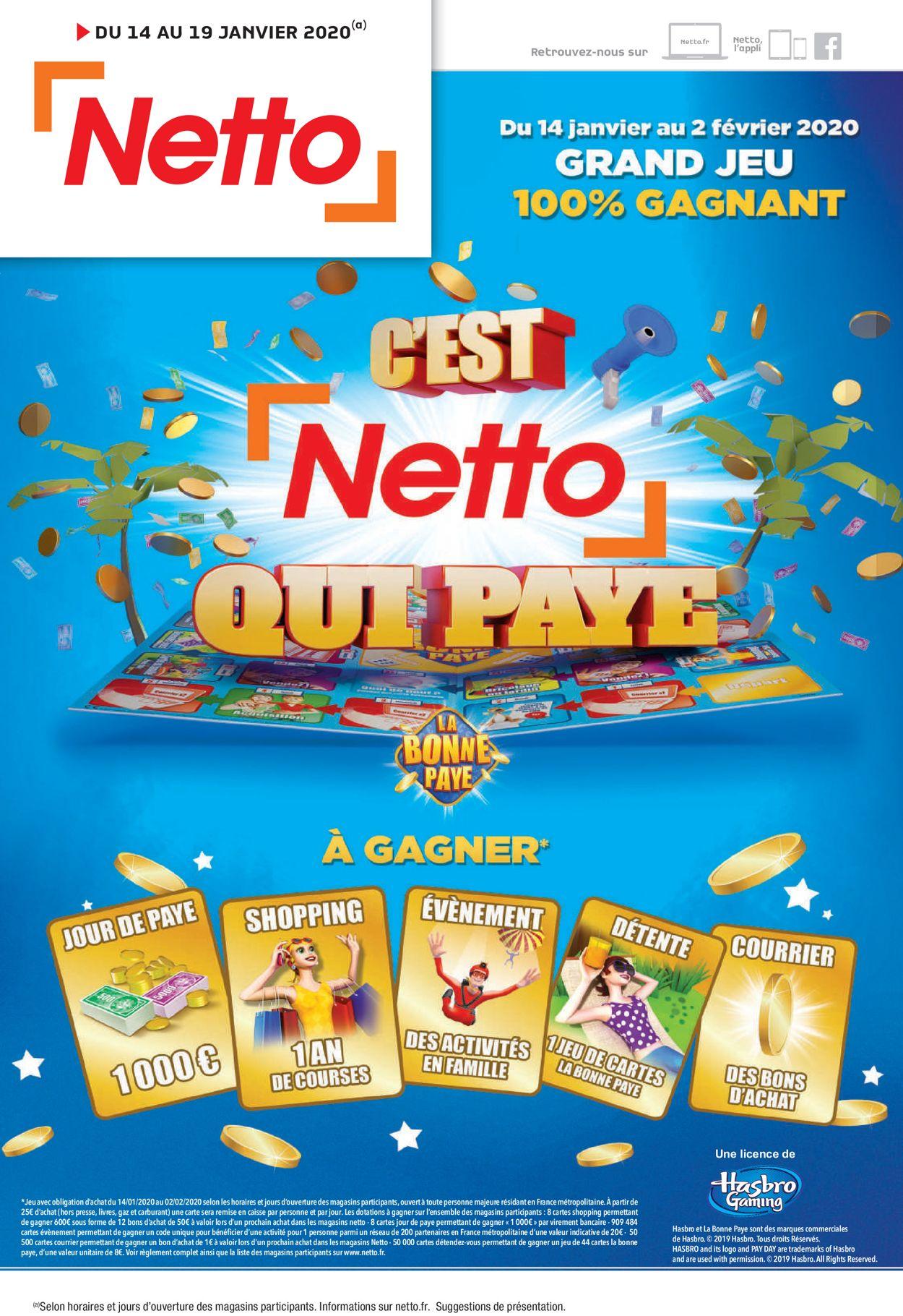 Netto Catalogue - 14.01-19.01.2020