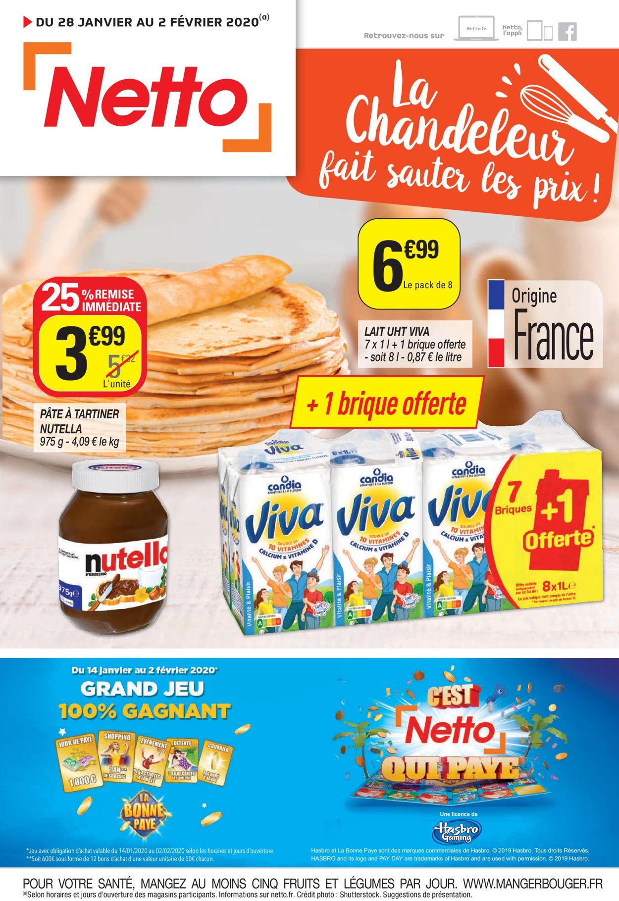 Netto Catalogue - 28.01-02.02.2020