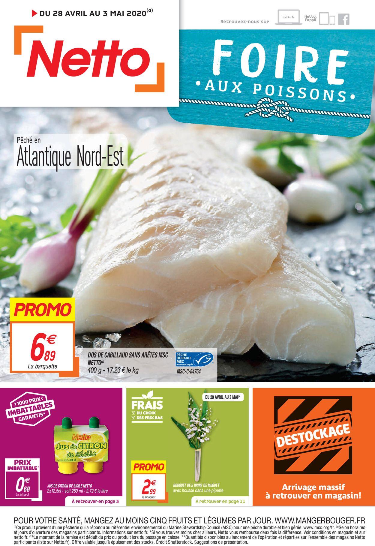 Netto Catalogue - 28.04-03.05.2020