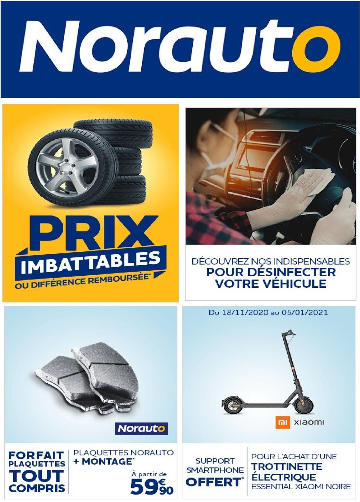Norauto Catalogue - 04.01-10.01.2021