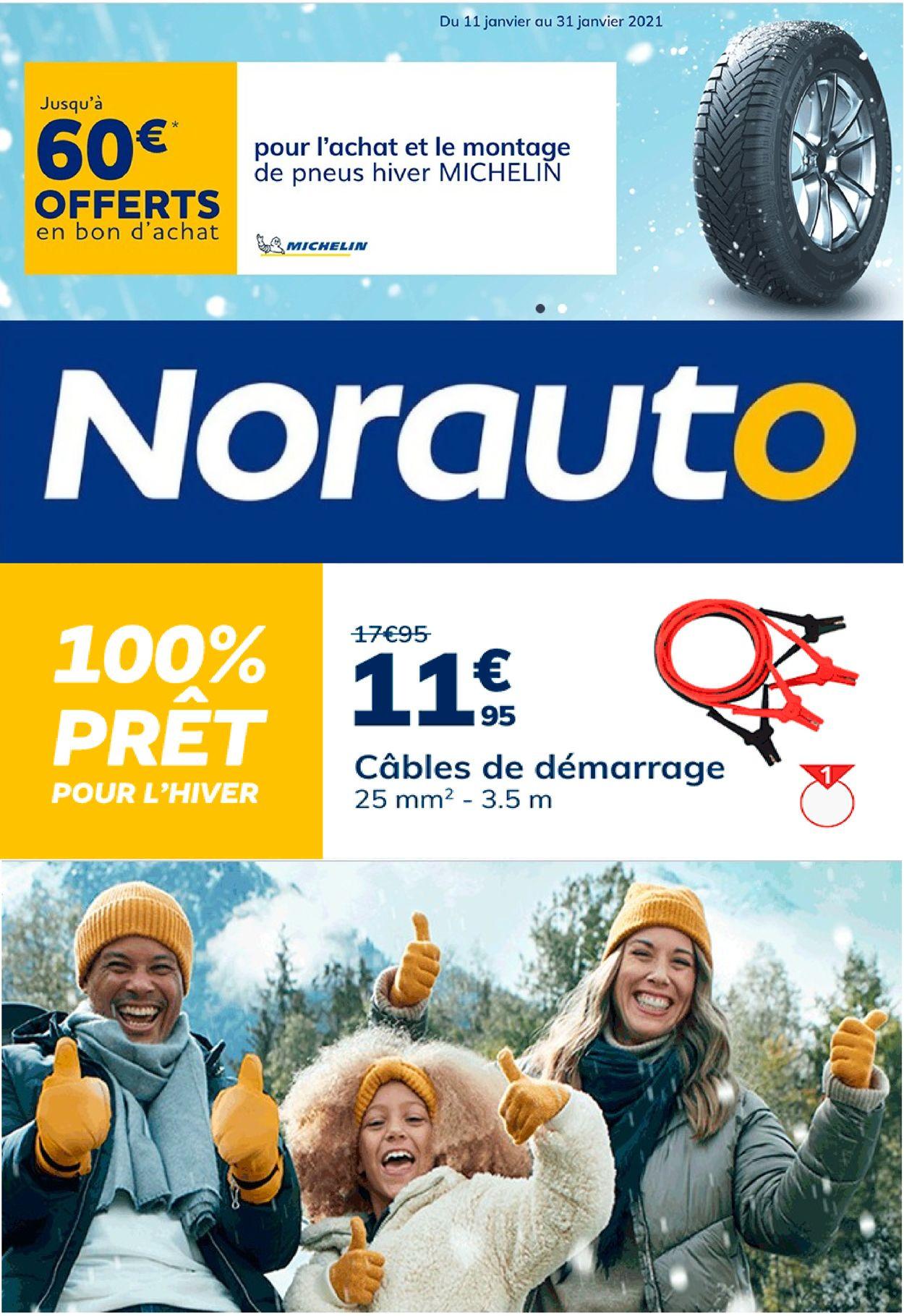 Norauto Catalogue - 11.01-24.01.2021