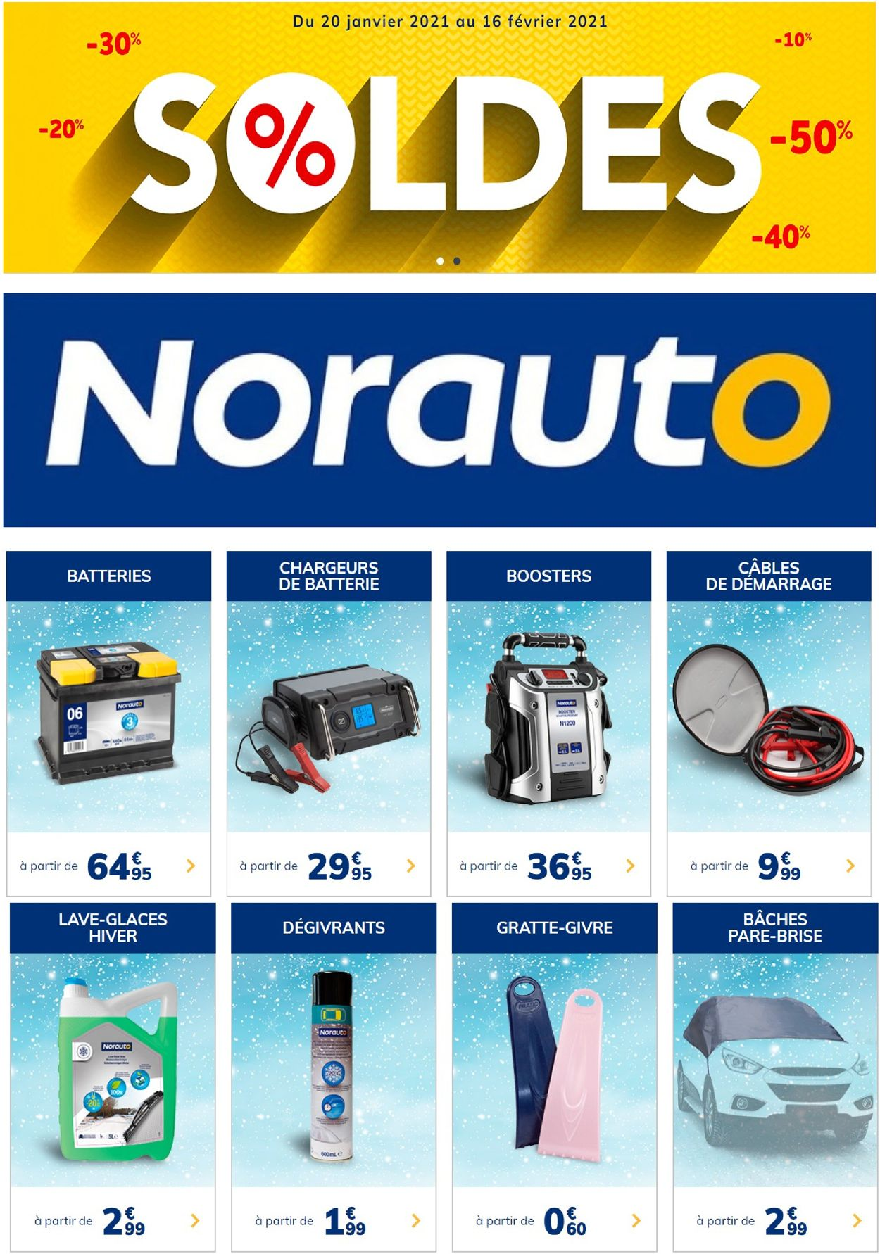 Norauto Catalogue - 25.01-16.02.2021