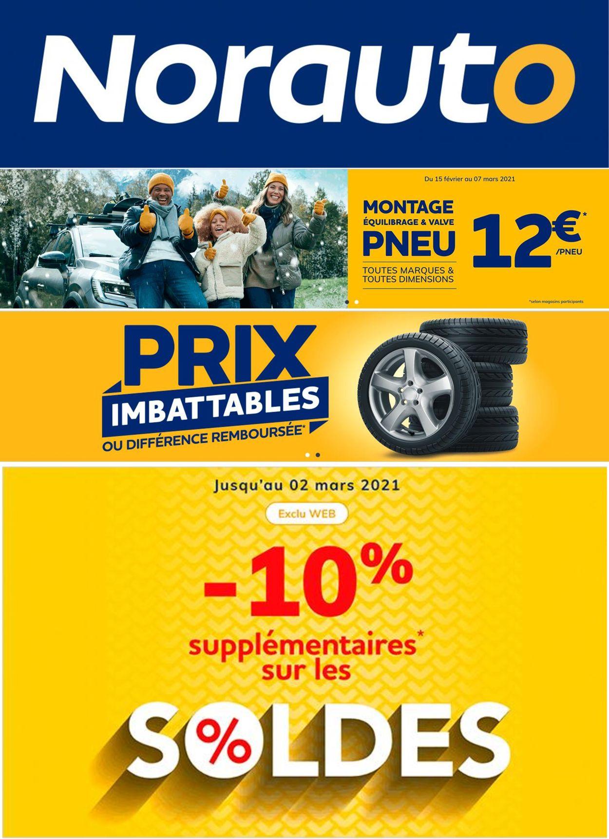 Norauto Catalogue - 17.02-02.03.2021