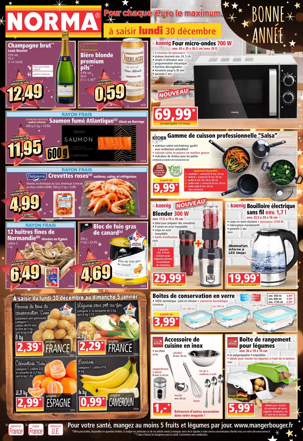 Norma - Catalogue du Nouvel An Catalogue - 30.12-05.01.2020
