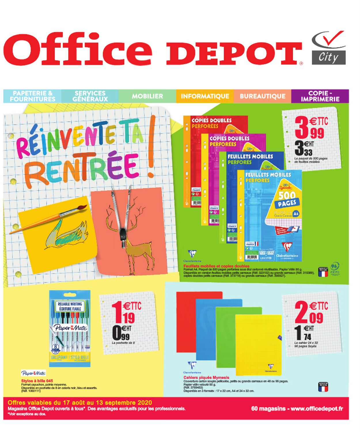 Office Depot Catalogue - 17.08-13.09.2020
